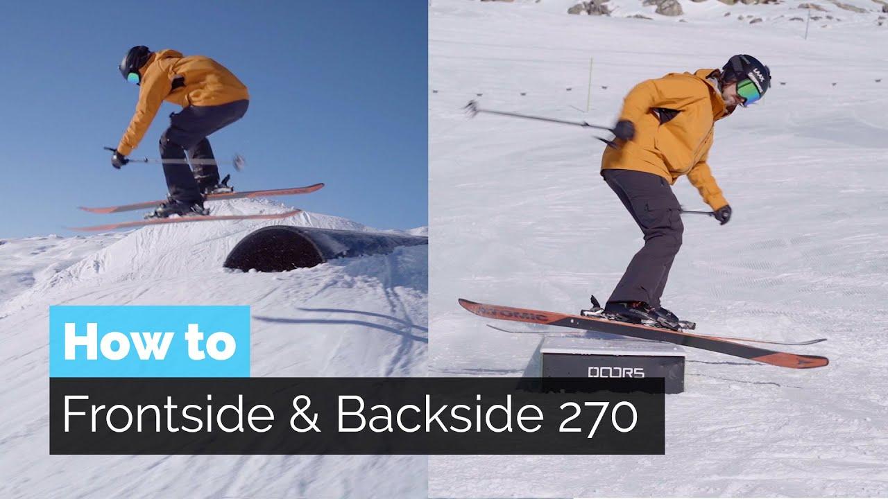 Wie macht man einen frontside/backside 270 off?
