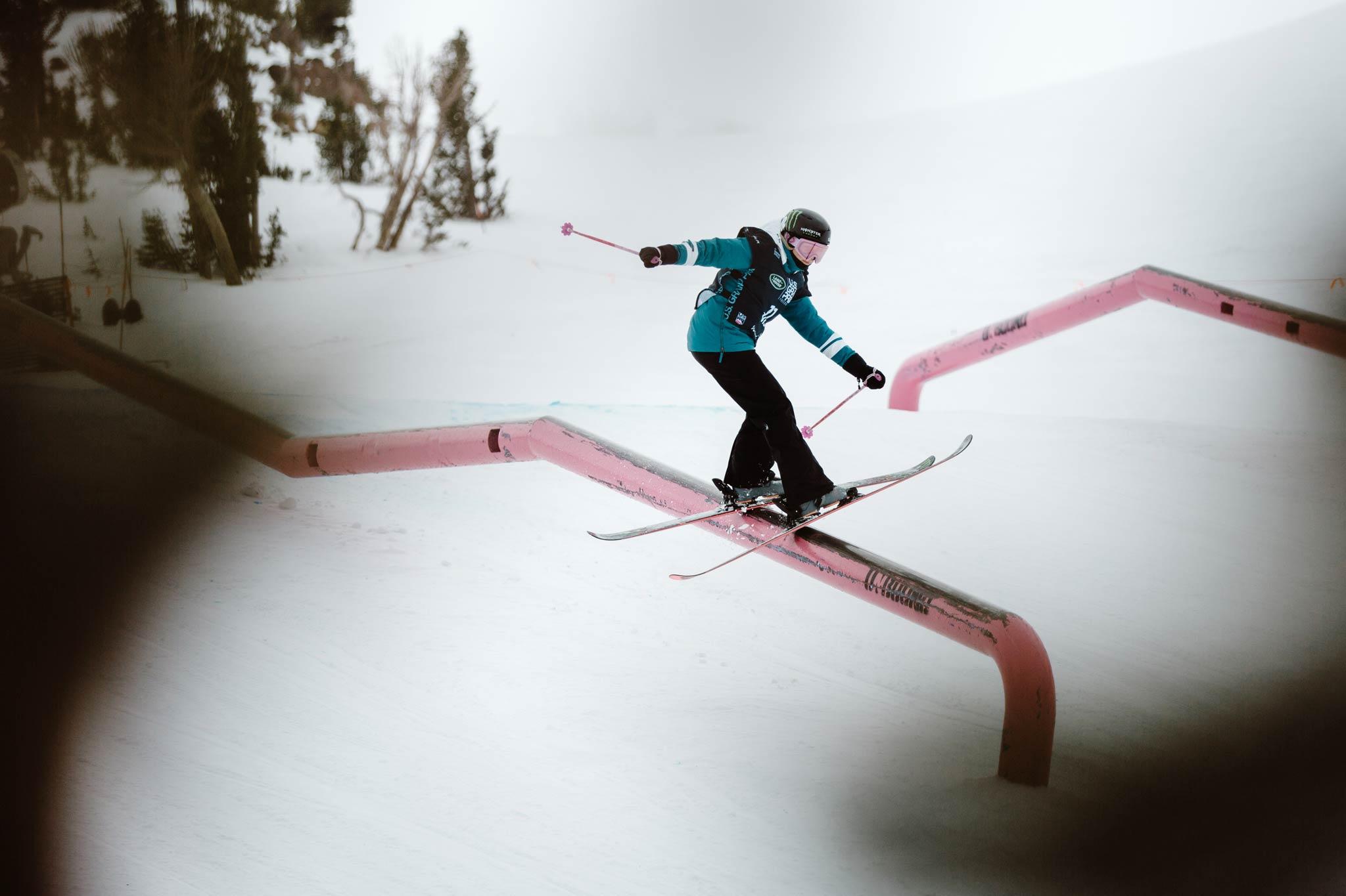 Rider: Maggie Voisin - Foto: FIS Freestyle