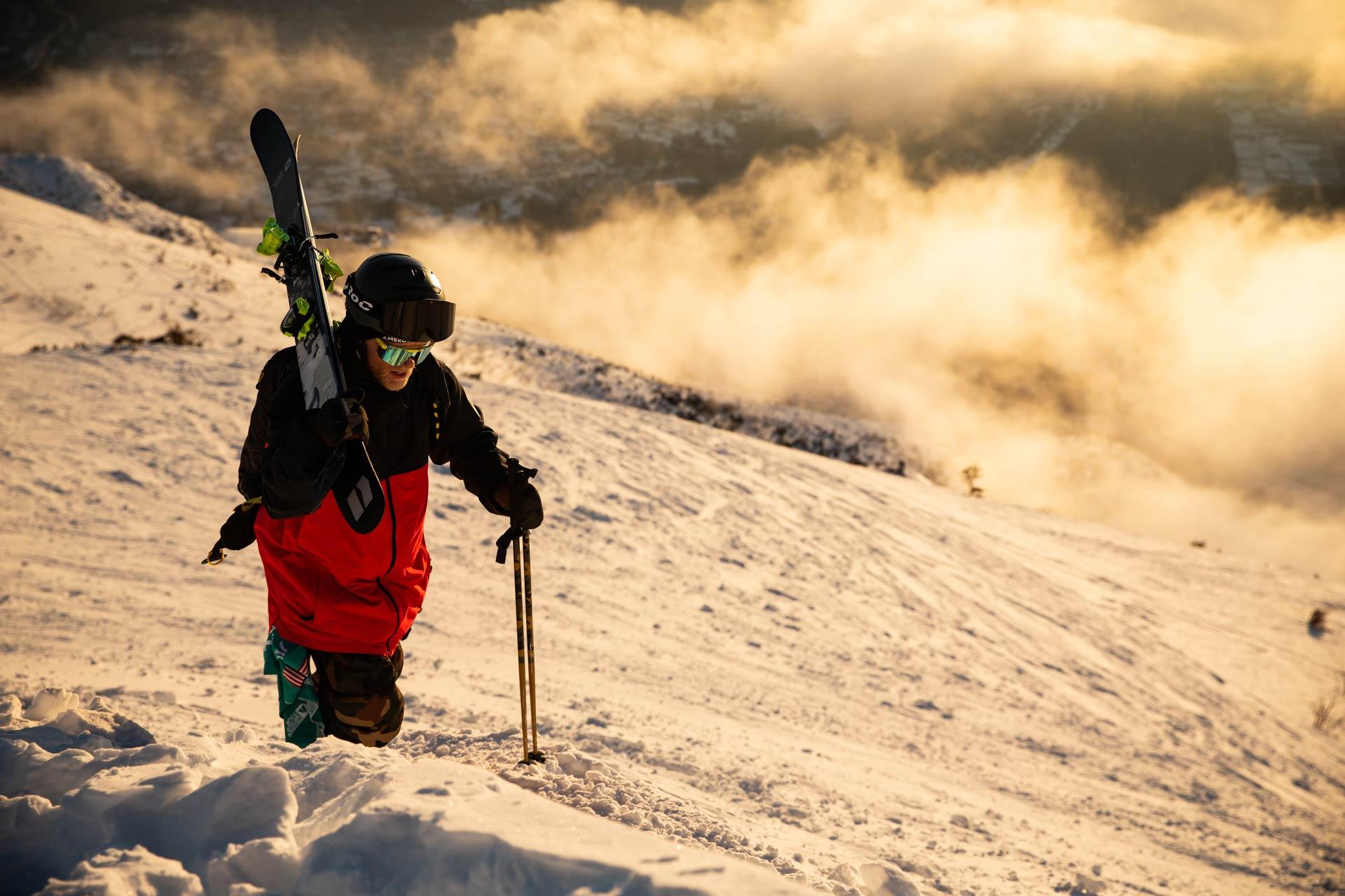 Es war ein absolut magischer Morgen in Japan vor dem Start des Contests! - Rider: Tanner Hall - Foto: freerideworldtour.com / D. Daher