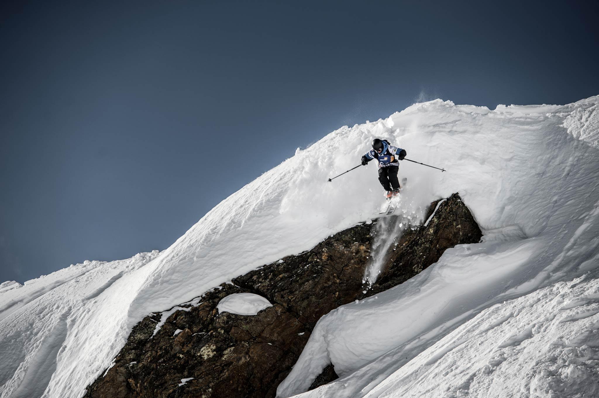 Die Quellspitze bietet viele Optionen für die Freerider. - Foto: Andreas Vigl