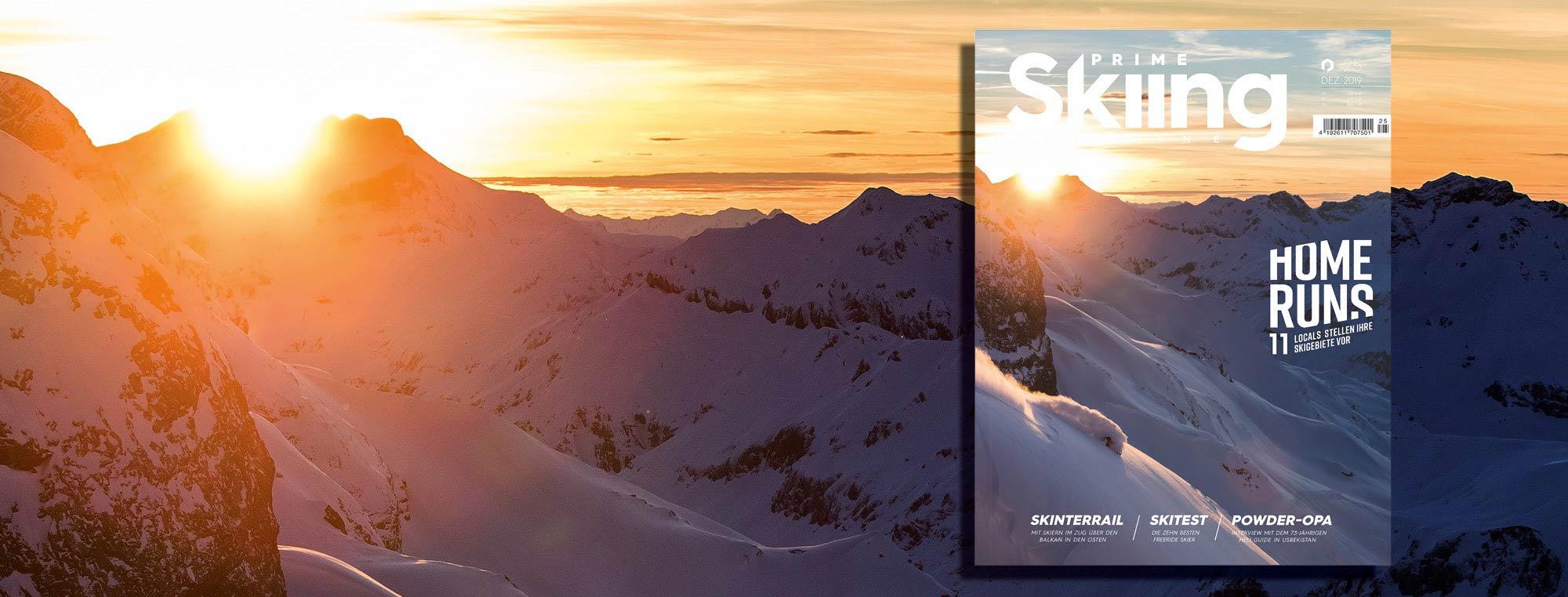 PRIME Skiing #25 – Jetzt am Kiosk!