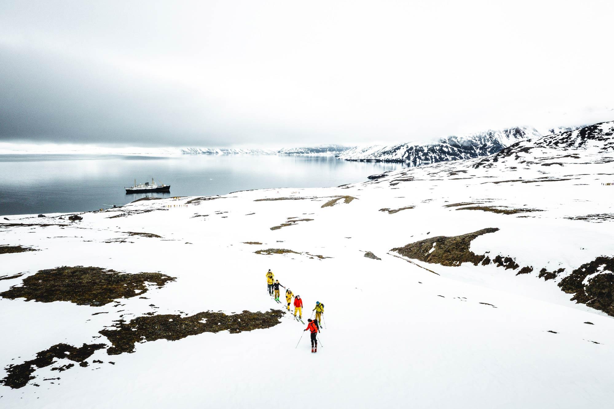 Ski & Sail auf Spitzbergen - Foto: Mathis Dumas