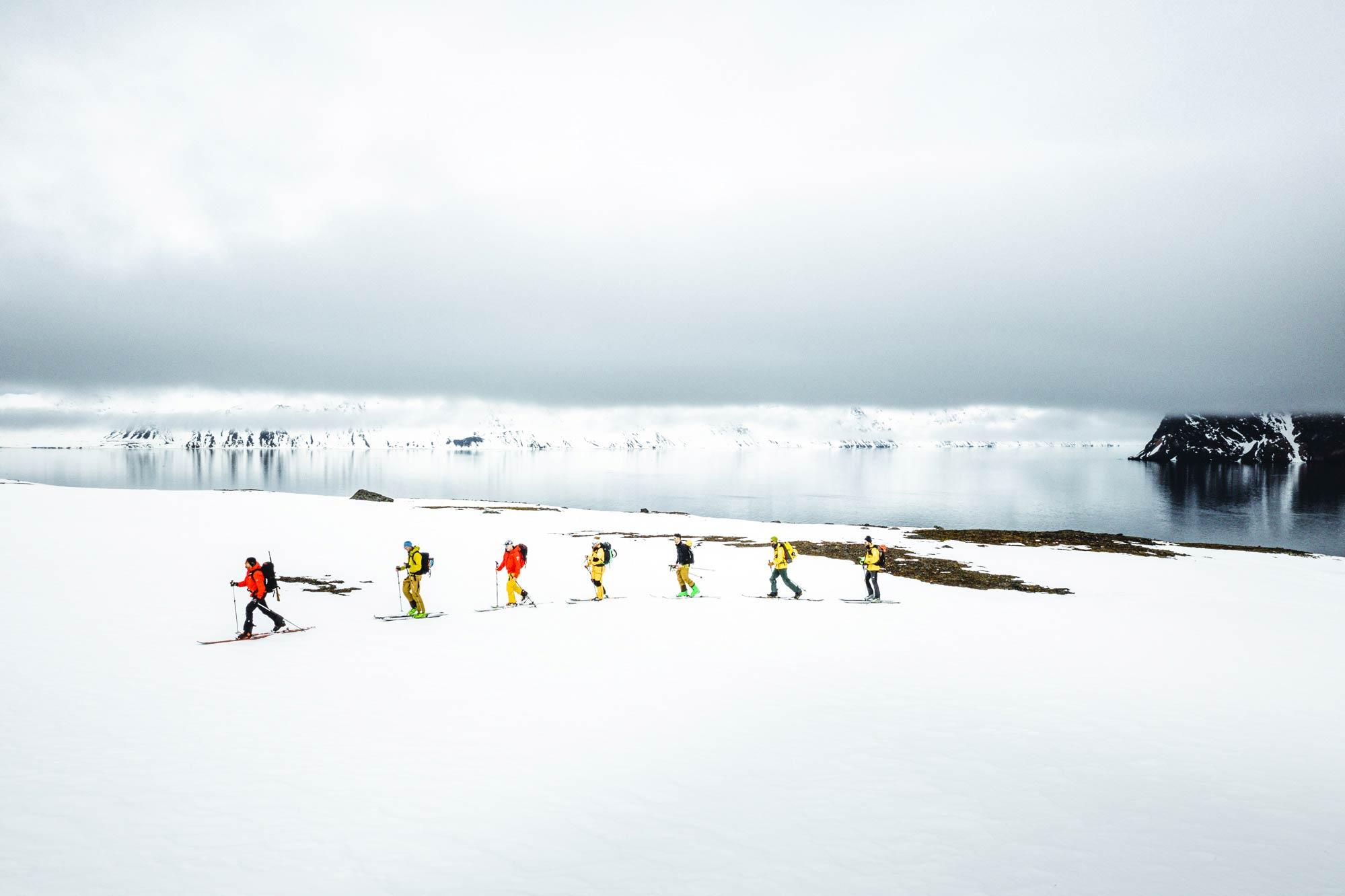 Die Plätze für den Trip nach Spitzbergen sind streng limitiert. - Foto: Mathis Dumas