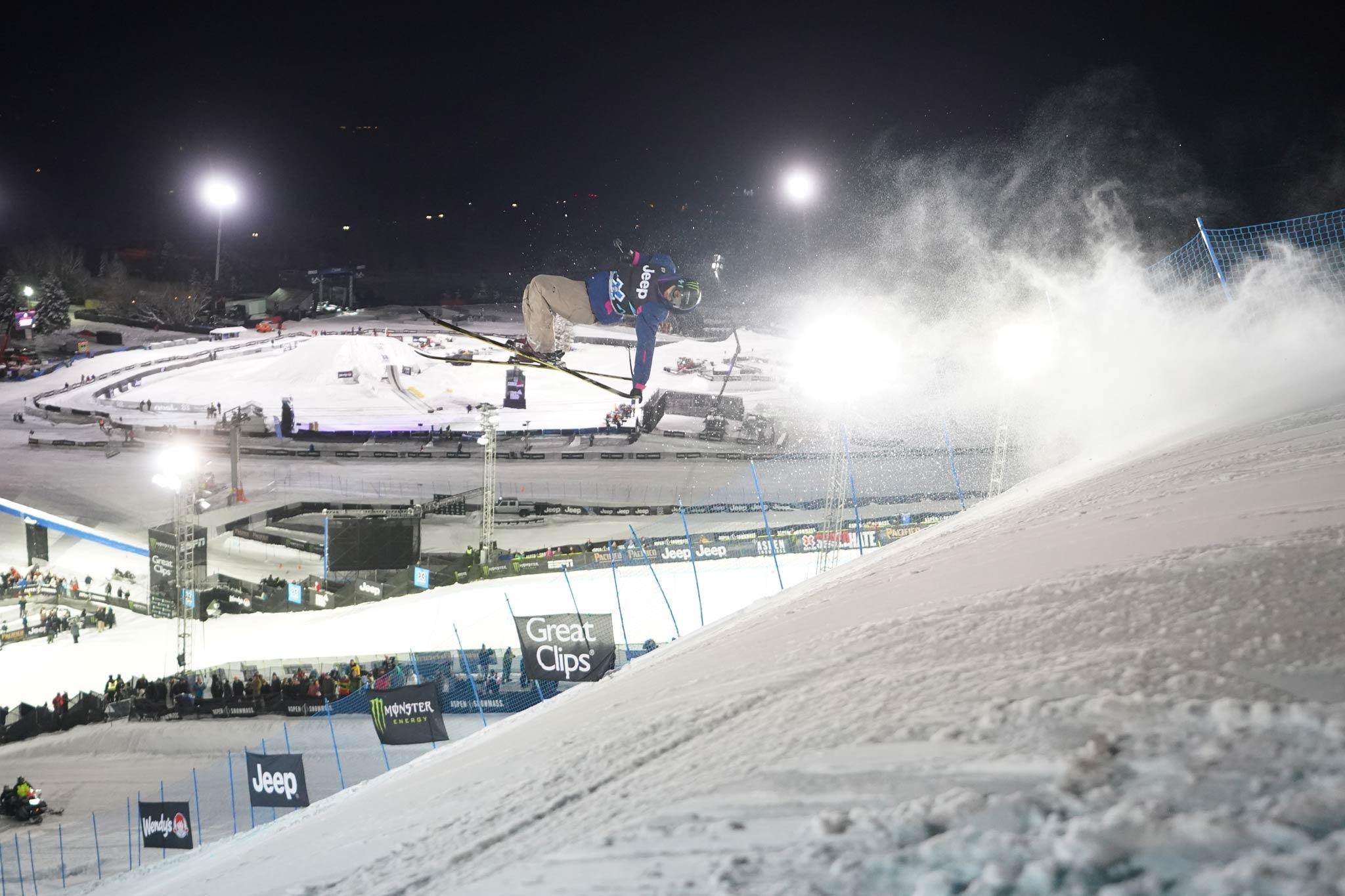 Der Sieger des ersten Knuckle Huck Contests im Rahmen der Winter X Games: Colby Stevenson (USA) - Foto: Matt Morning / ESPN Images
