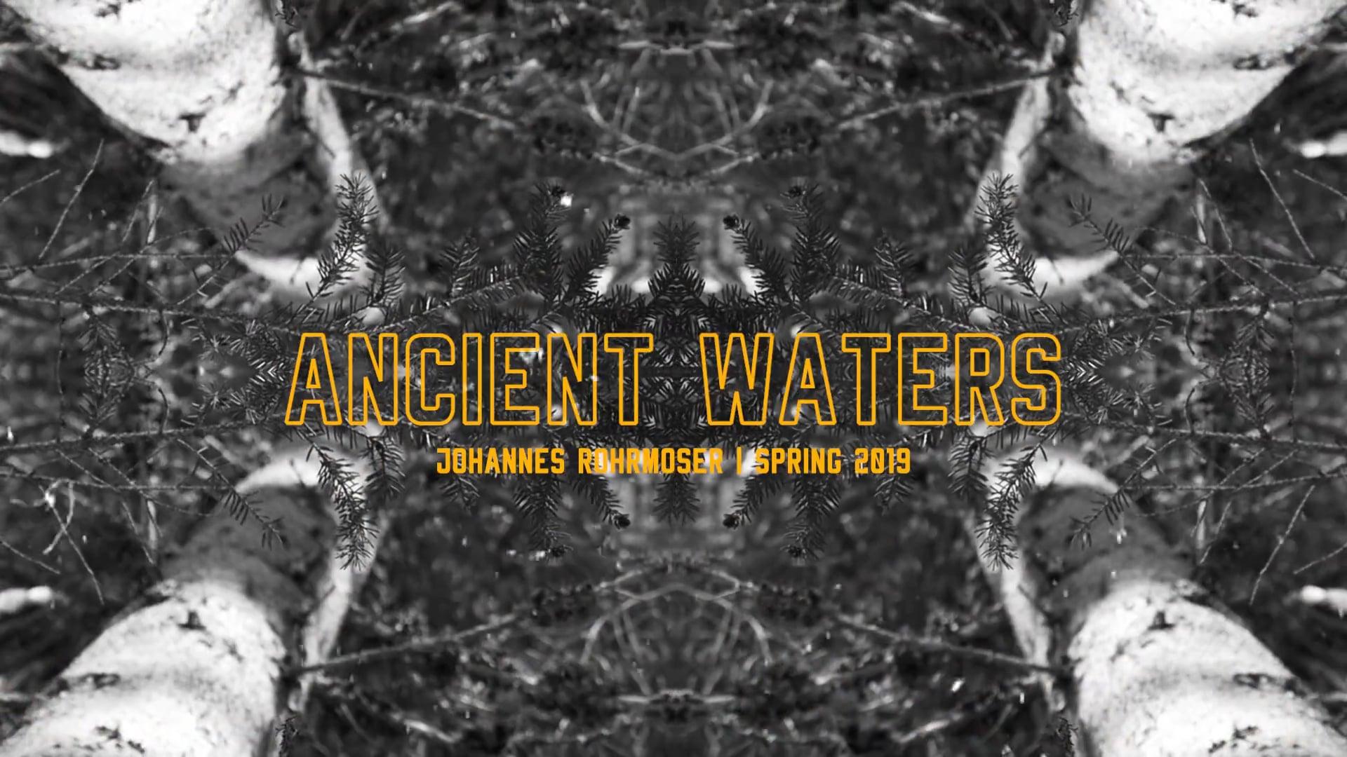 """Ancient Waters"" – Johannes Rohrmoser Spring Edit 2019"