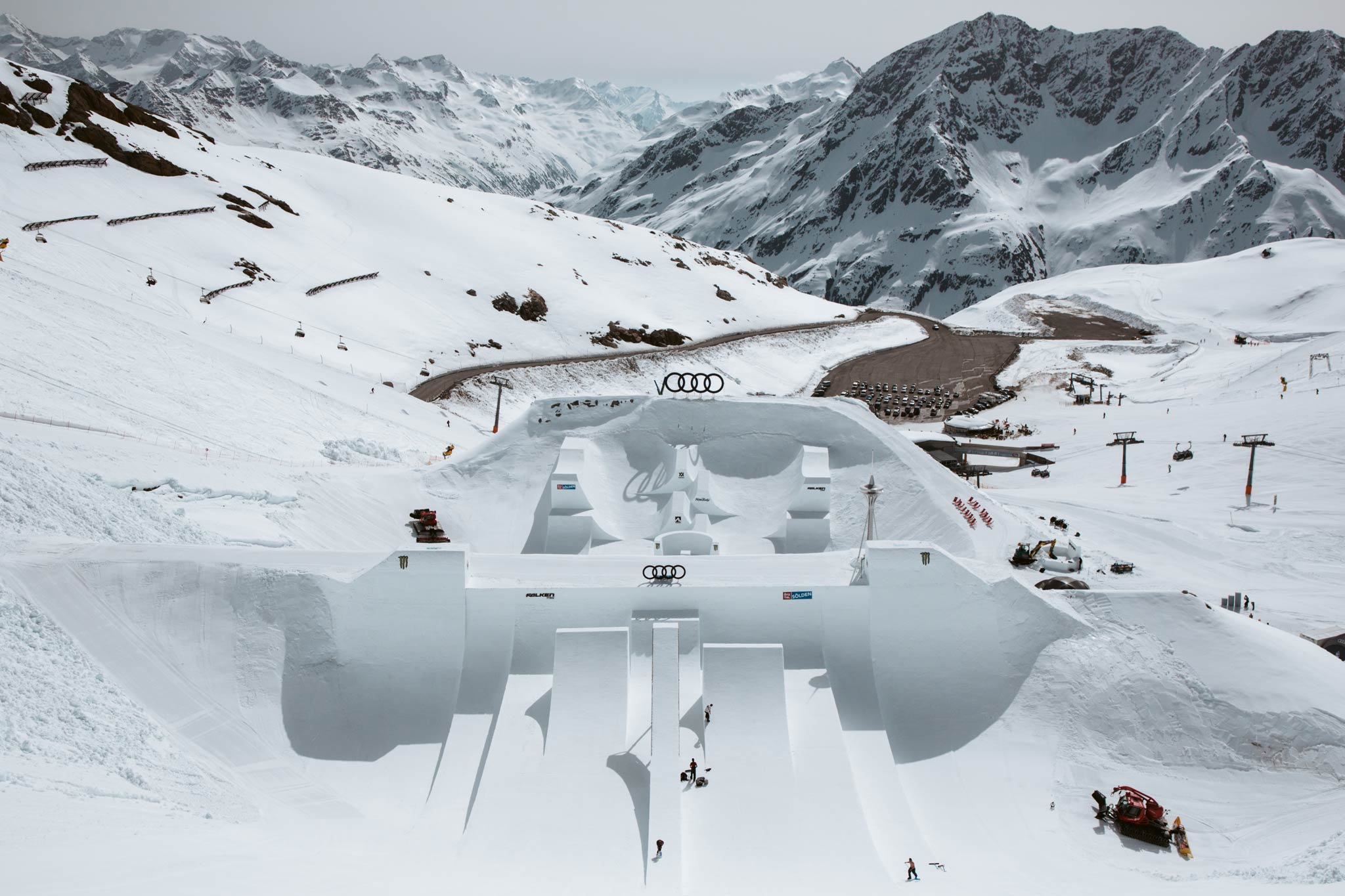 Das Audi Nines 2019 Setup - Foto: Theo Acworth