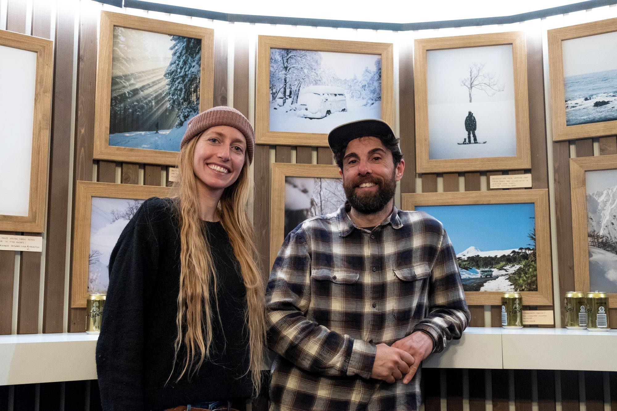 Laura Martinez präsentierte im Burton Store ihre 'Life in White' Fotos. - Foto: Sonia Ziegler
