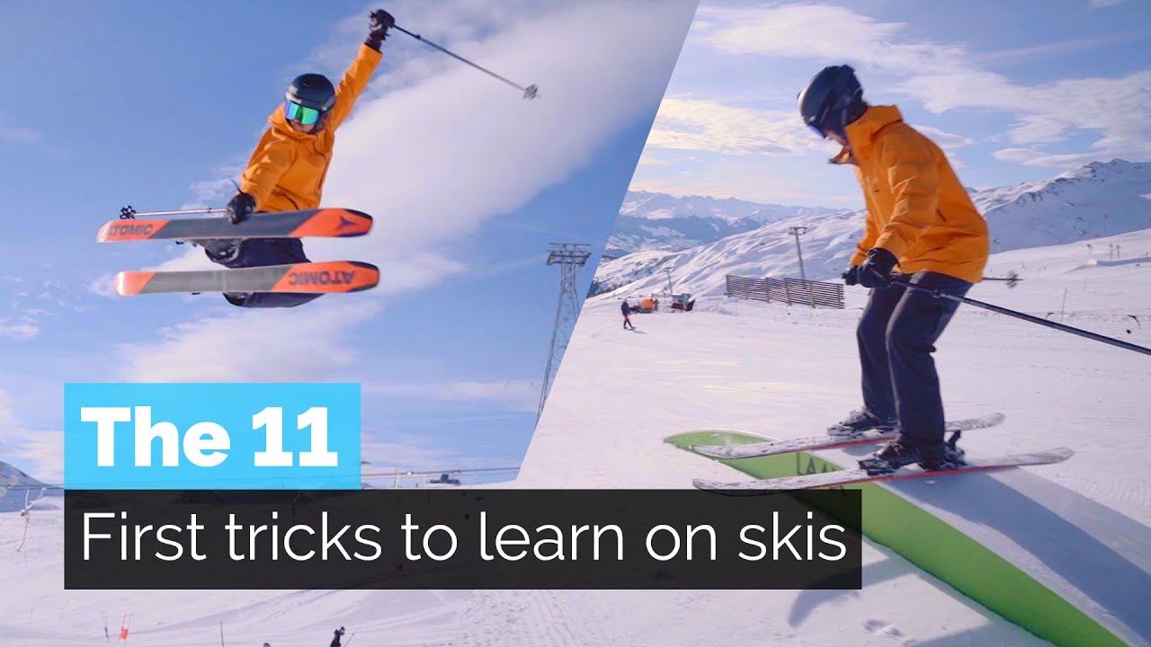 Freestyle-Skifahren: Welche Tricks man zuerst lernen sollte