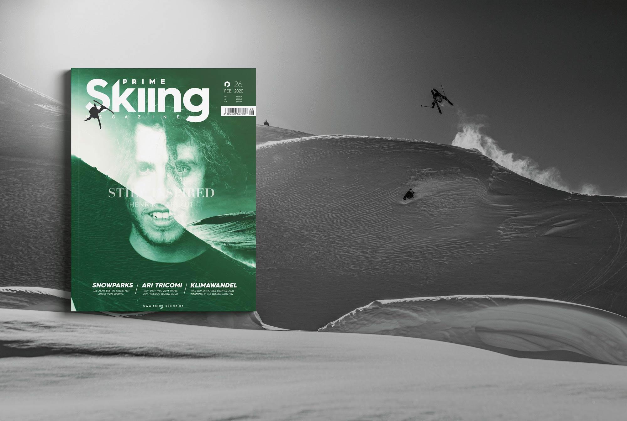 PRIME Skiing #26 – Jetzt am Kiosk!