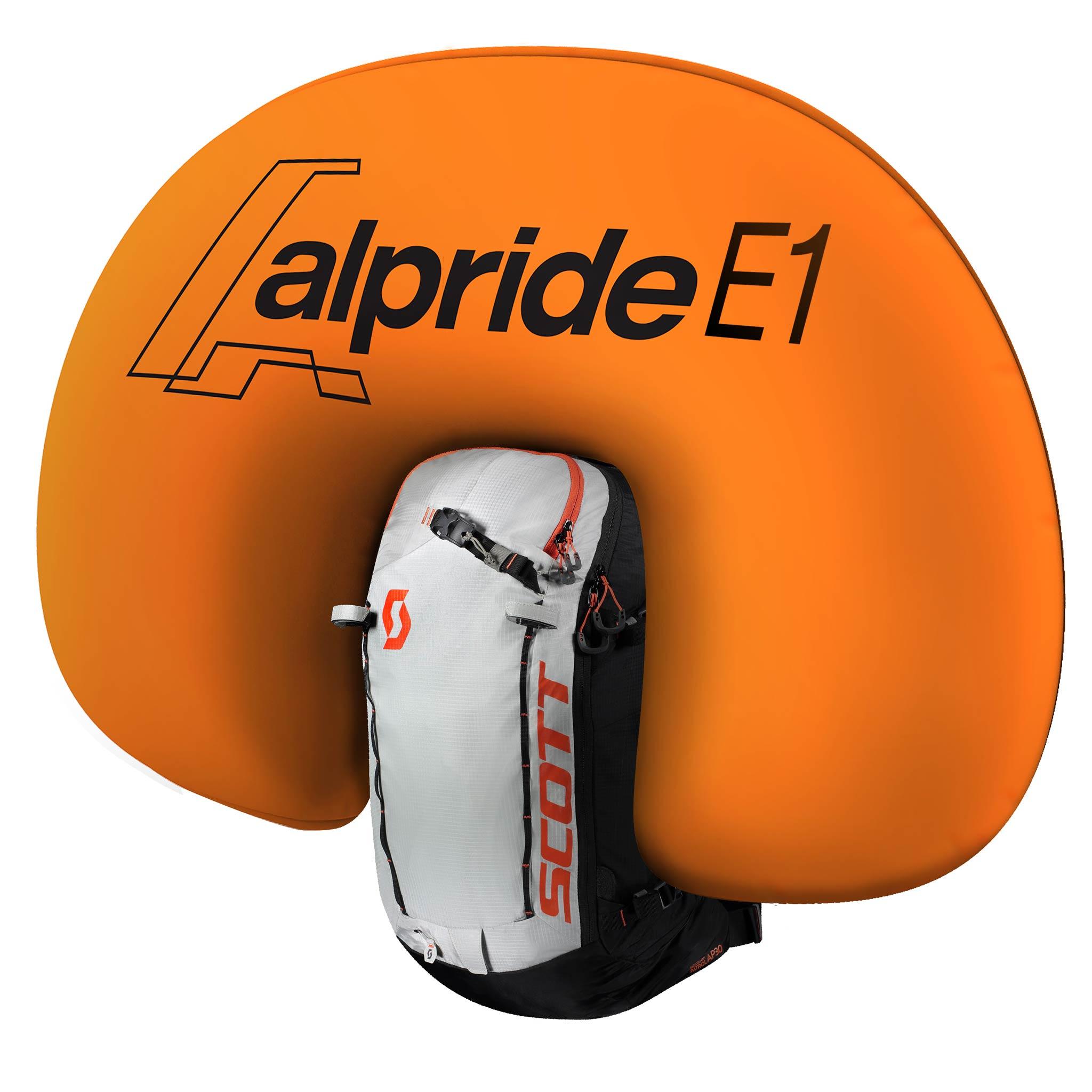 Scott Sports Alpride E1 Airbag-System 2020/2021 mit vollelektronischer Superkondensator-Technologie