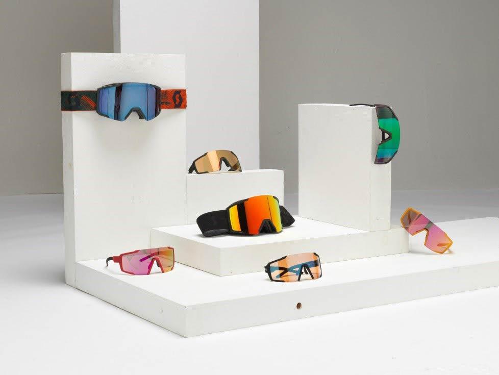 Scott Sports 2020/2021: Shield Skibrille mit Amplifier Scheibentechnologie