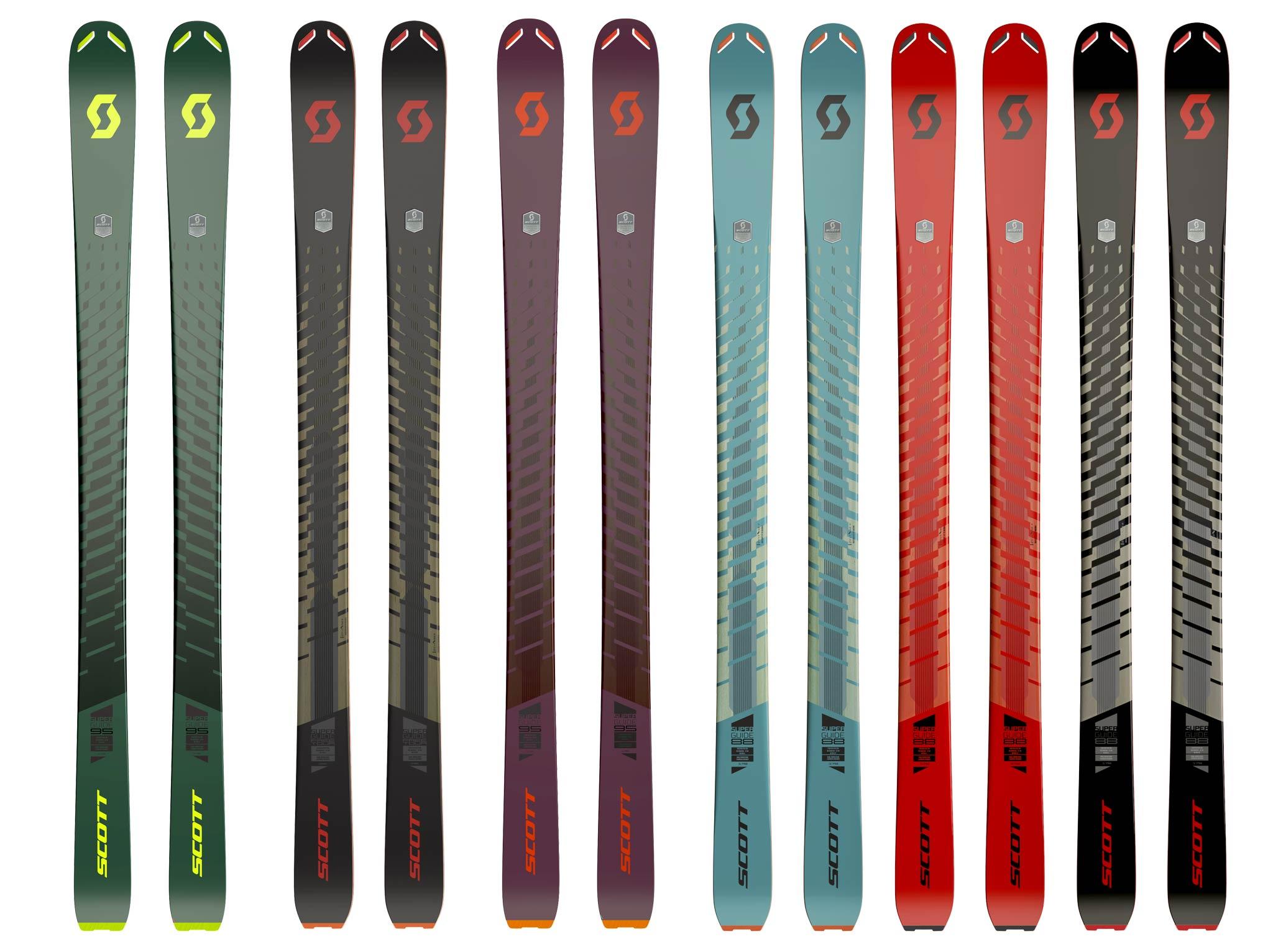 Scott Superguide Ski Kollektion - Übersicht