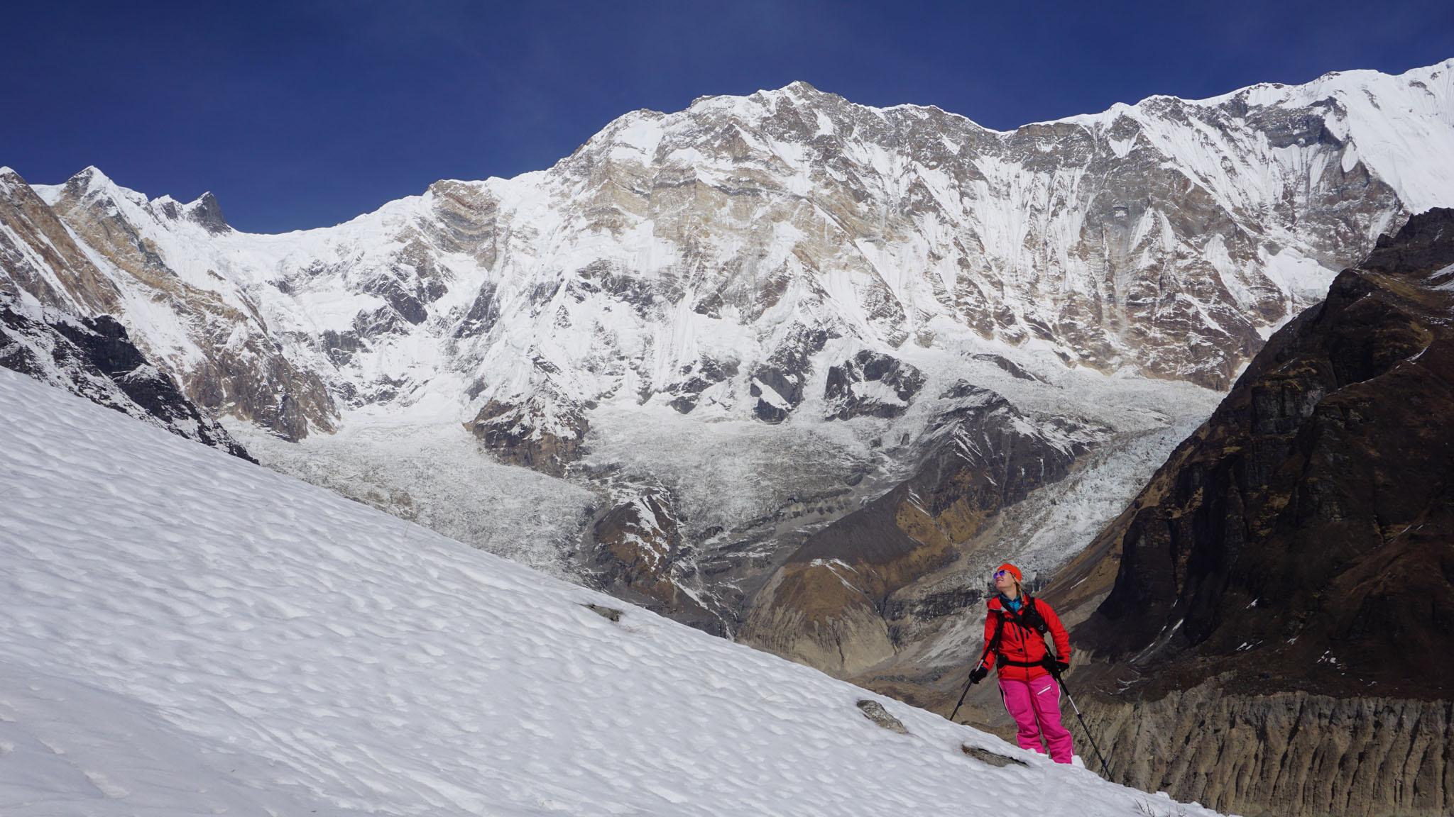 Nepal liegt nahe am Äquator, so ist es trotz der Höhe oft frühjahrsmässig warm.