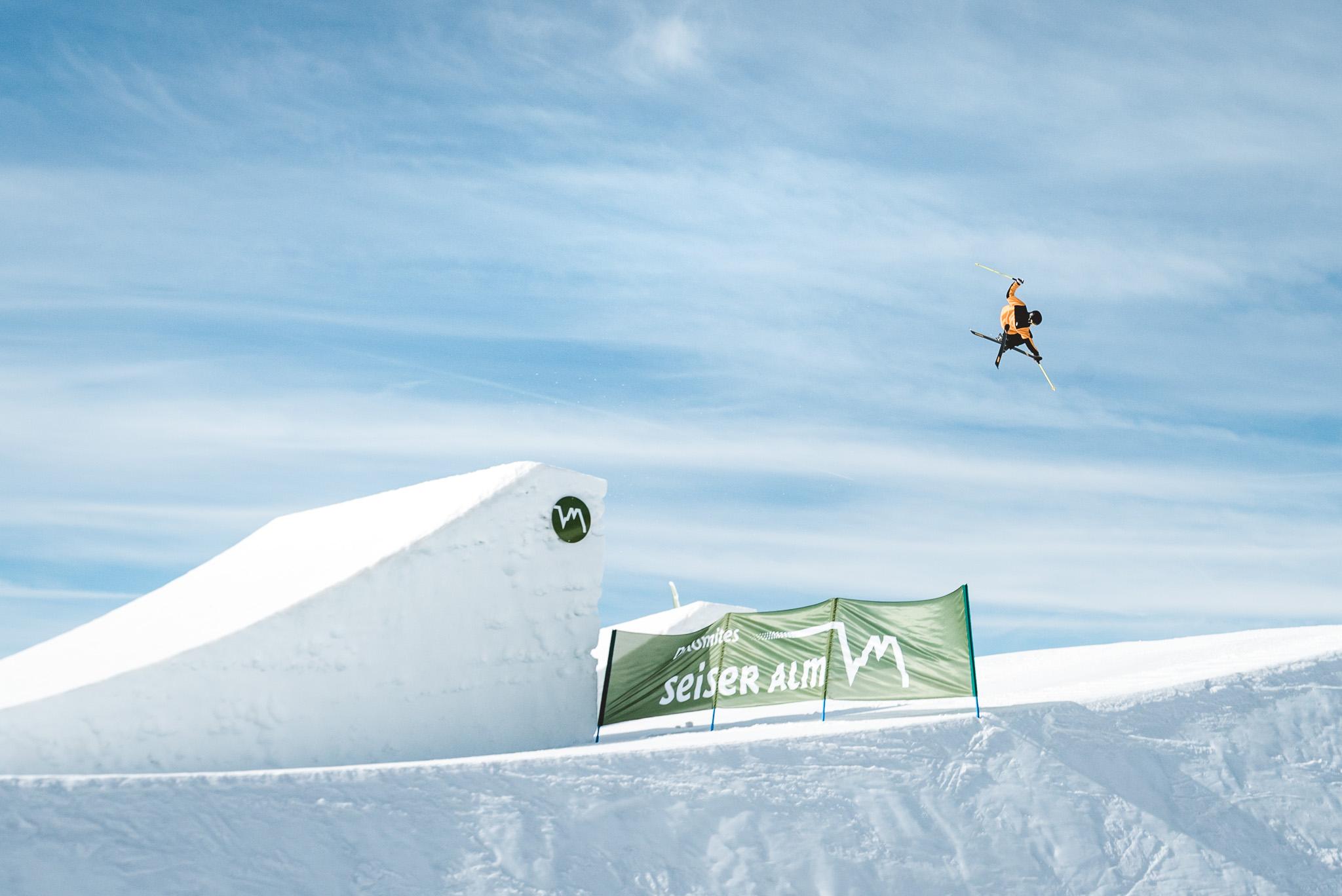 PRIME Report: Das Setup im Snowpark Seiser Alm (Winter 2020) - Rider: Pascal Runggaldier