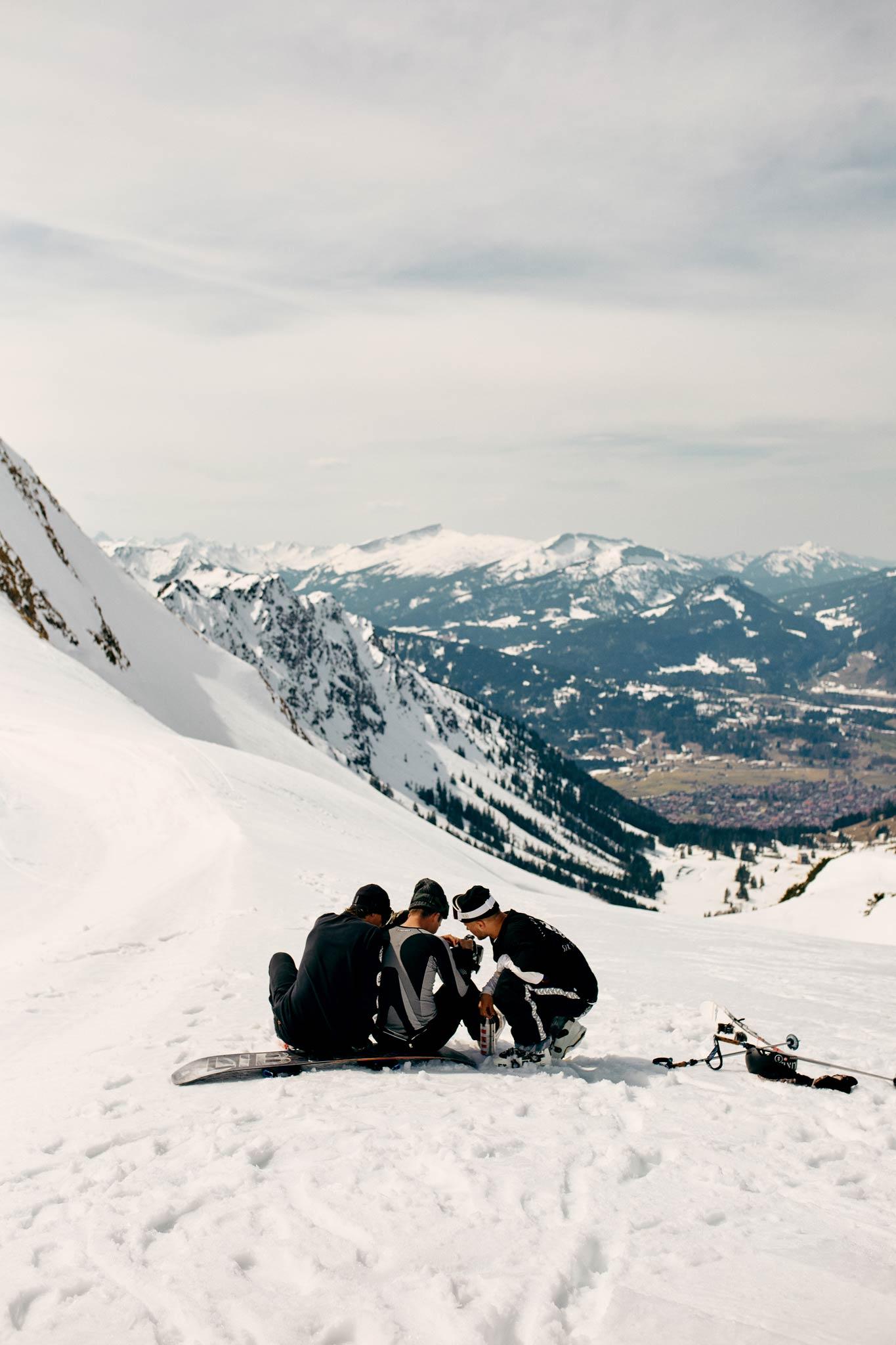 Nicht nur der Arlberg eignet sich für Backcountry Shootings. - Foto: Marco Freudenreich