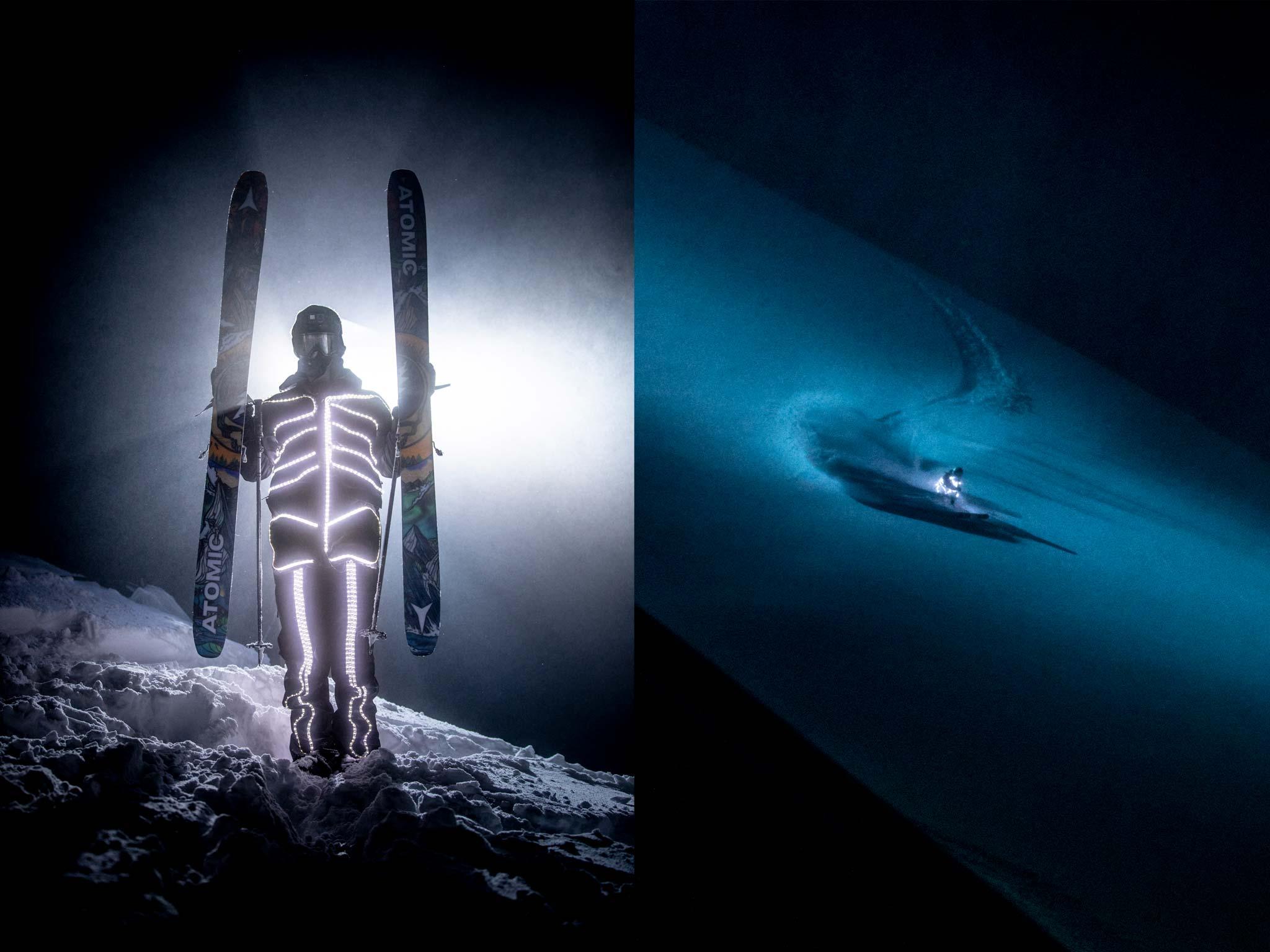 """Neben vielen weiteren Herausforderungen raubten vor allem die Skelett-Anzüge Chris den letzten Nerv beim Dreh für """"Fire on the Mountain"""". - Fotos: Aaron Blatt"""