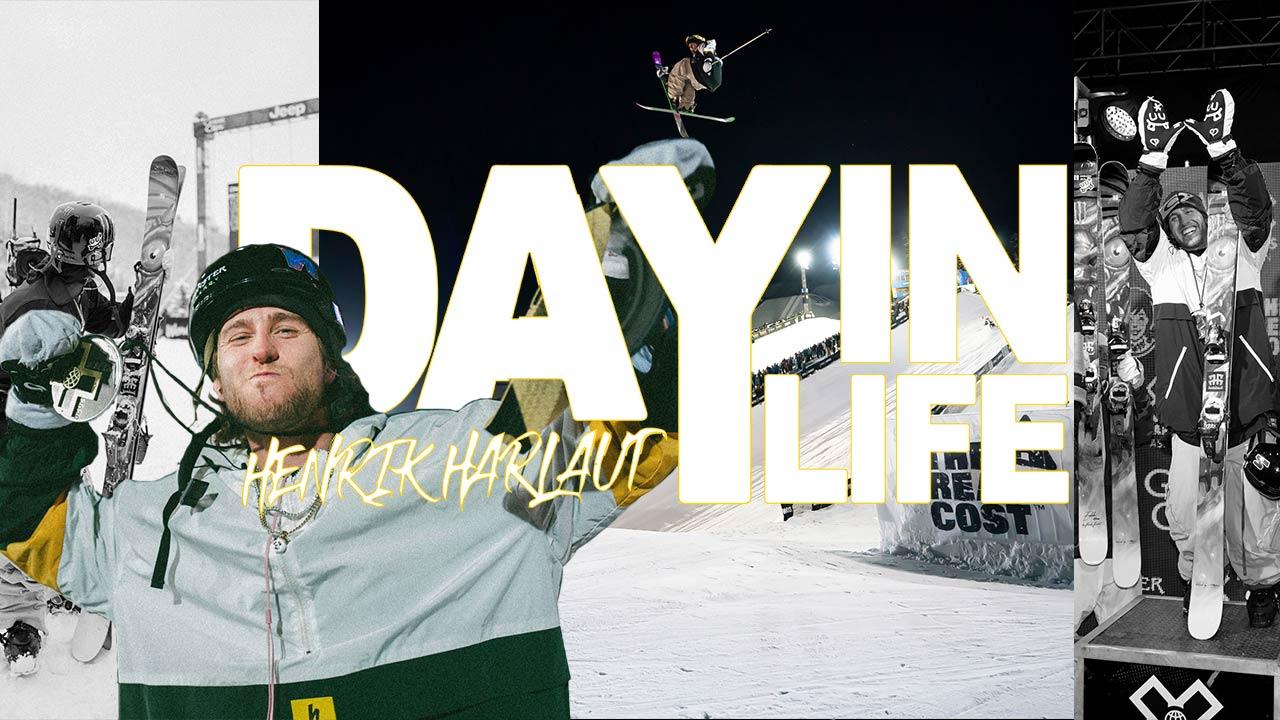 """Day In Life"" bei den X Games Aspen 2020 mit Henrik Harlaut"