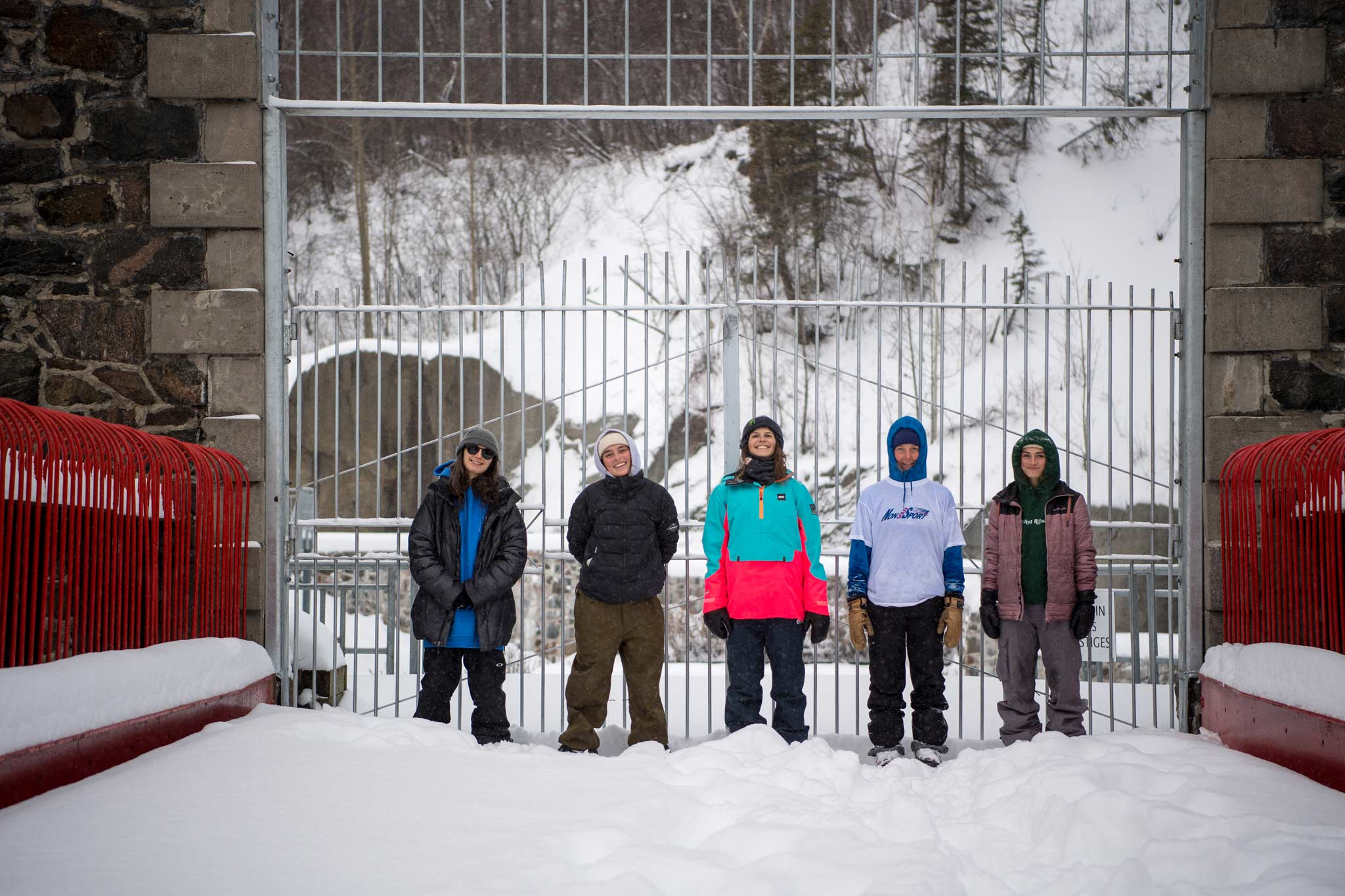 """Mit dabei ist unter anderem auch Rosina """"Rosi"""" Friedel aus Innsbruck (zweite von rechts). - Foto: JOC Photo"""