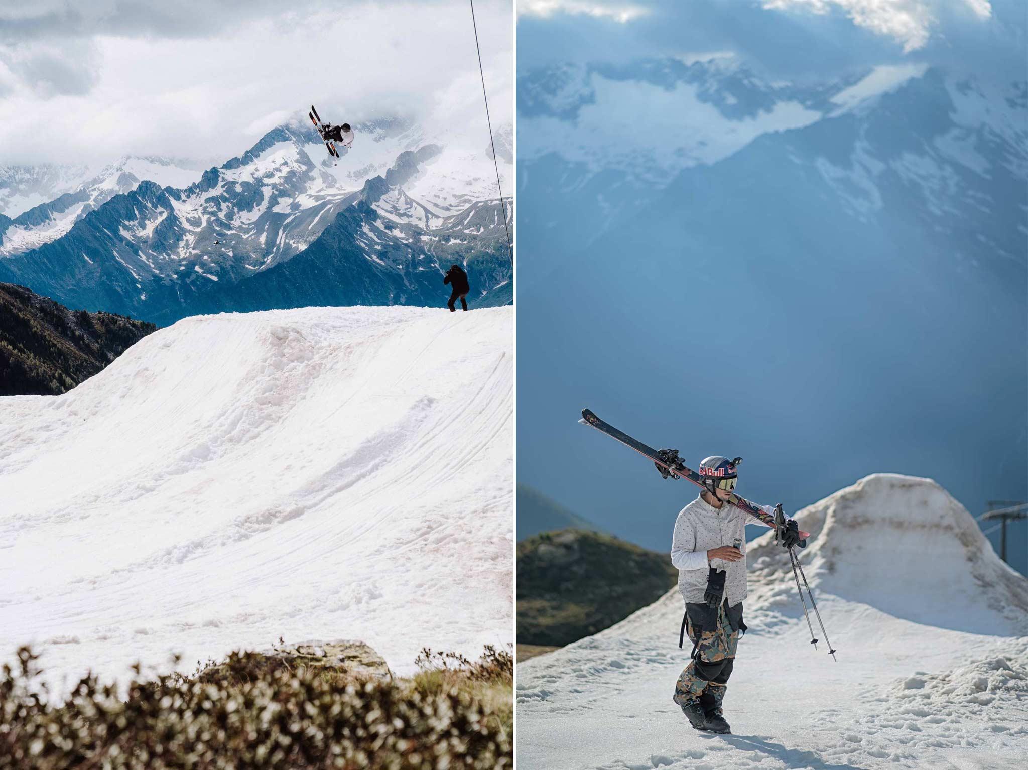 SuperSpringSesh 2020 by Markus Eder - Links: Simone Canal, rechts: Markus Eder - Location: Klausberg
