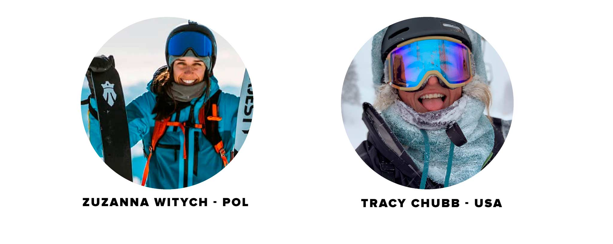 Alle neuen Fahrer der Kategorie Ski Damen bei der Freeride World Tour 2021 in der Übersicht.