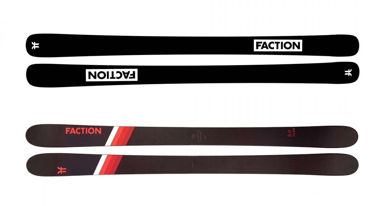 Die besten All-Mountain Ski 2021: Faction Candide 2.0 2021