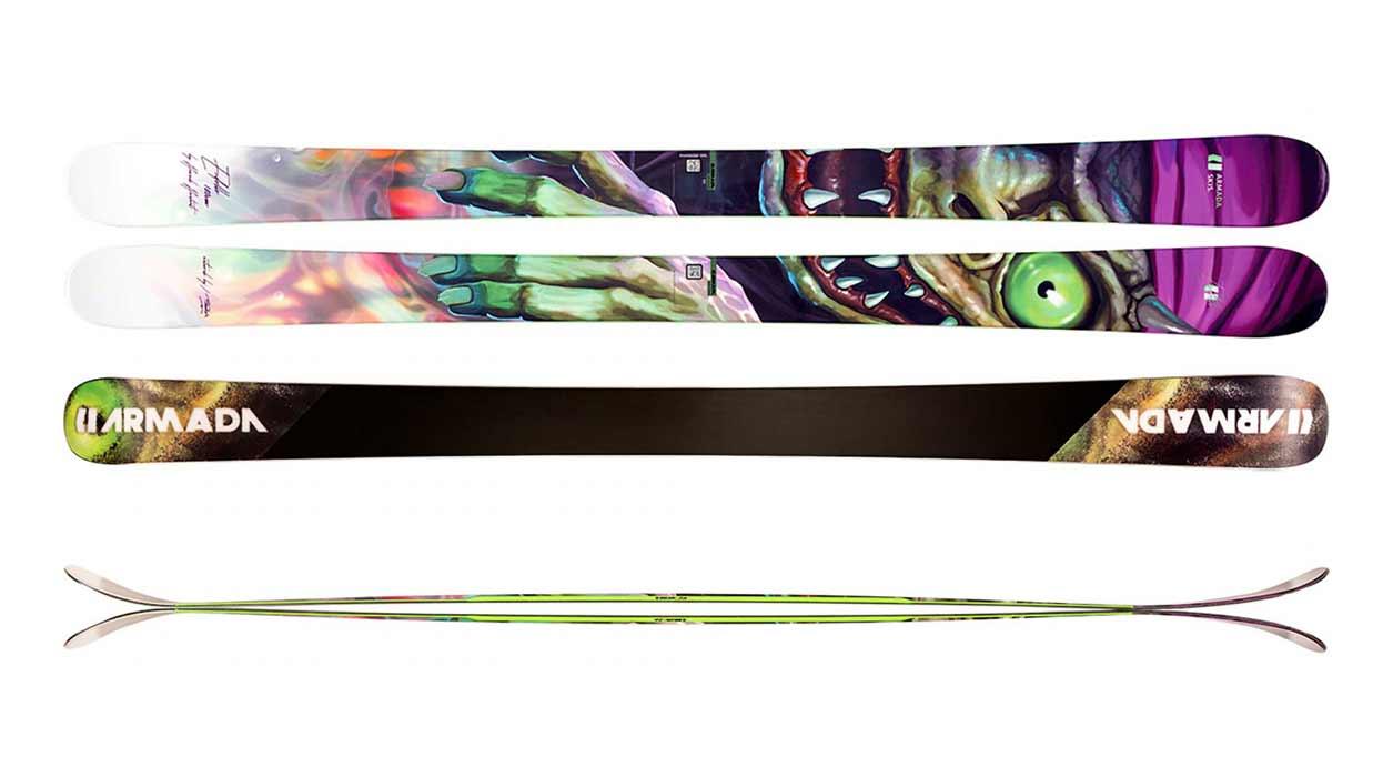Skitest: Die besten Park- und Freestyle-Ski 2021: Armada Edollo 2021