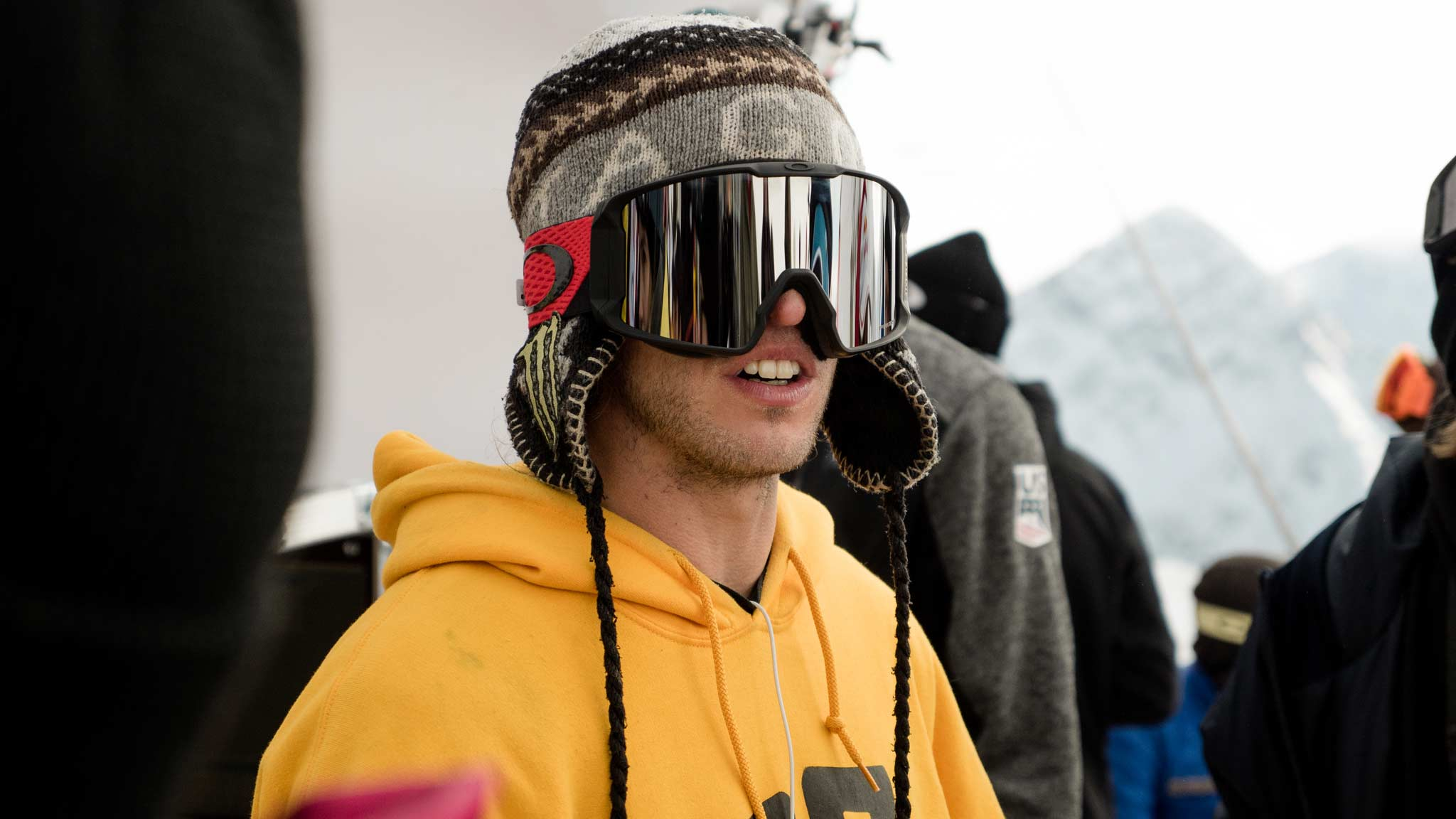 Henrik Harlaut (SWE), der Sieger von 2018 beim FIS Freeski Slopestyle World Cup Stubai, zählt auch 2020 zu den Favoriten auf den Sieg. - Foto: Jona Zimmermann