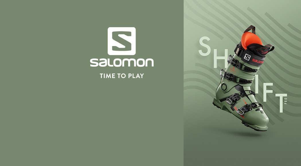 Gewinne einen Shift Pro Tourenskischuh 2021 von Salomon
