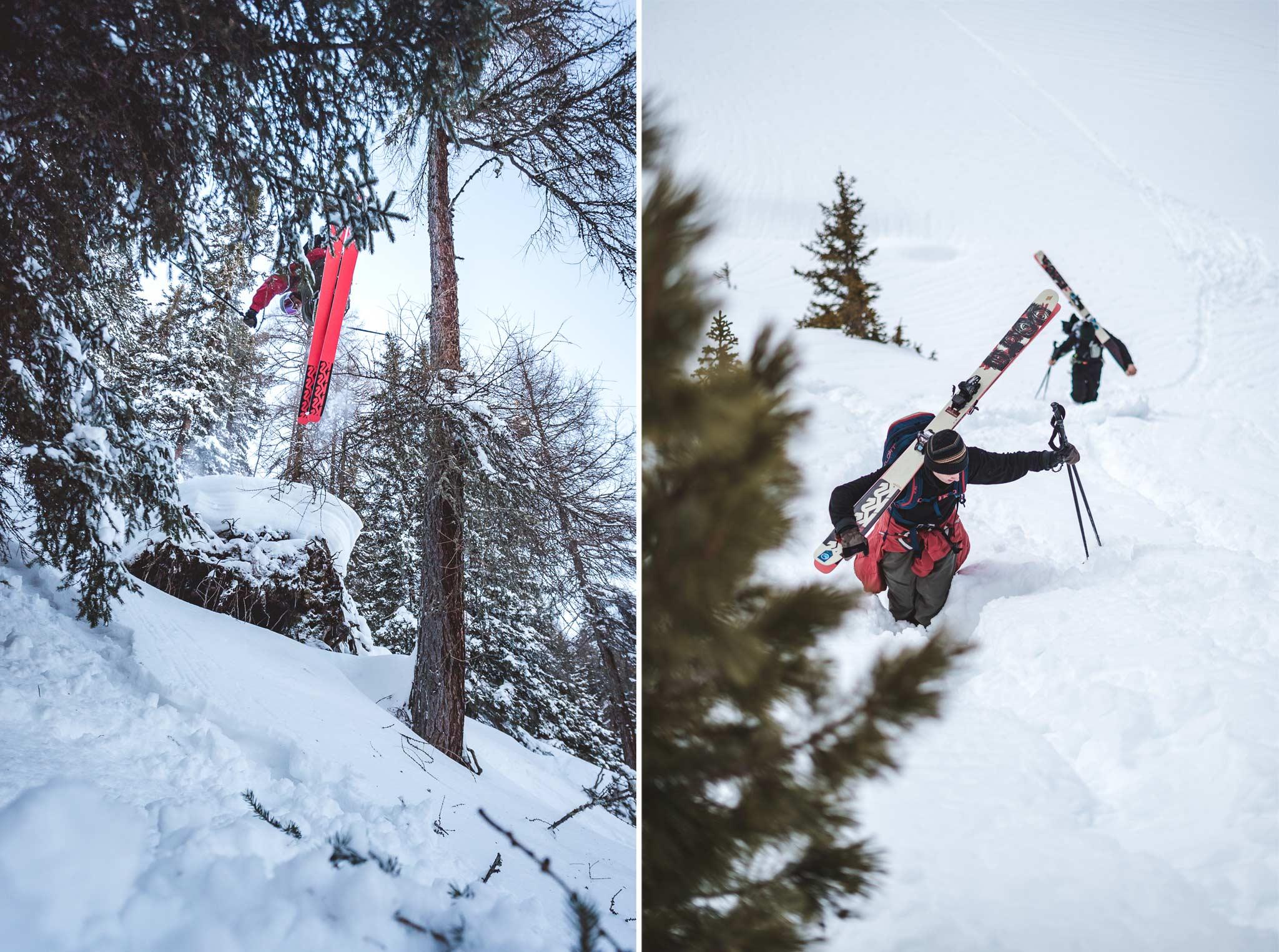 """Halcyon Days"" - Rider: Joona Kangas - Foto: Jörg Angeli / Prime Skiing"