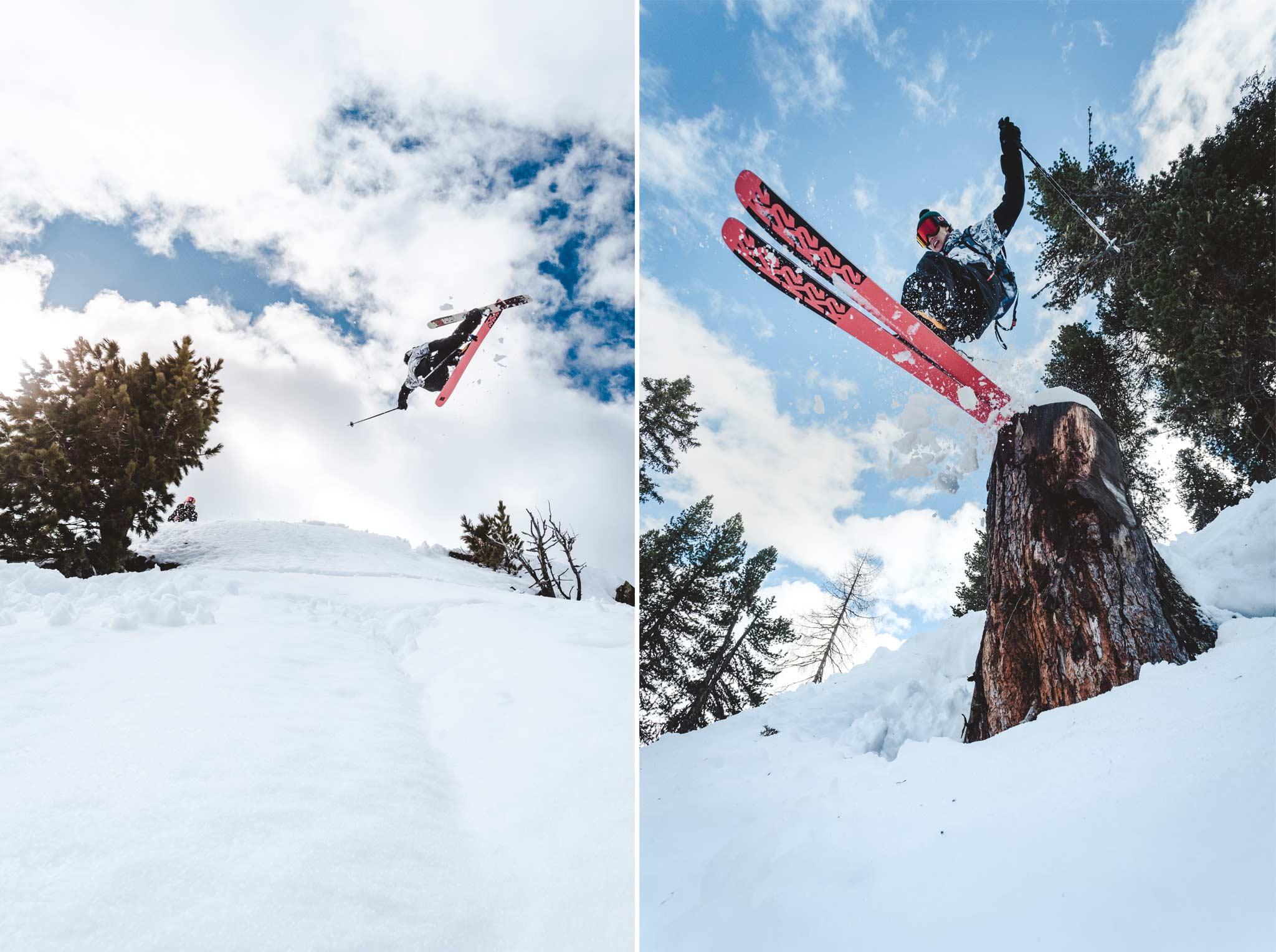 """""""Halcyon Days"""" -Rider: Lukas Schlickenrieder - Foto: Jörg Angeli / Prime Skiing"""