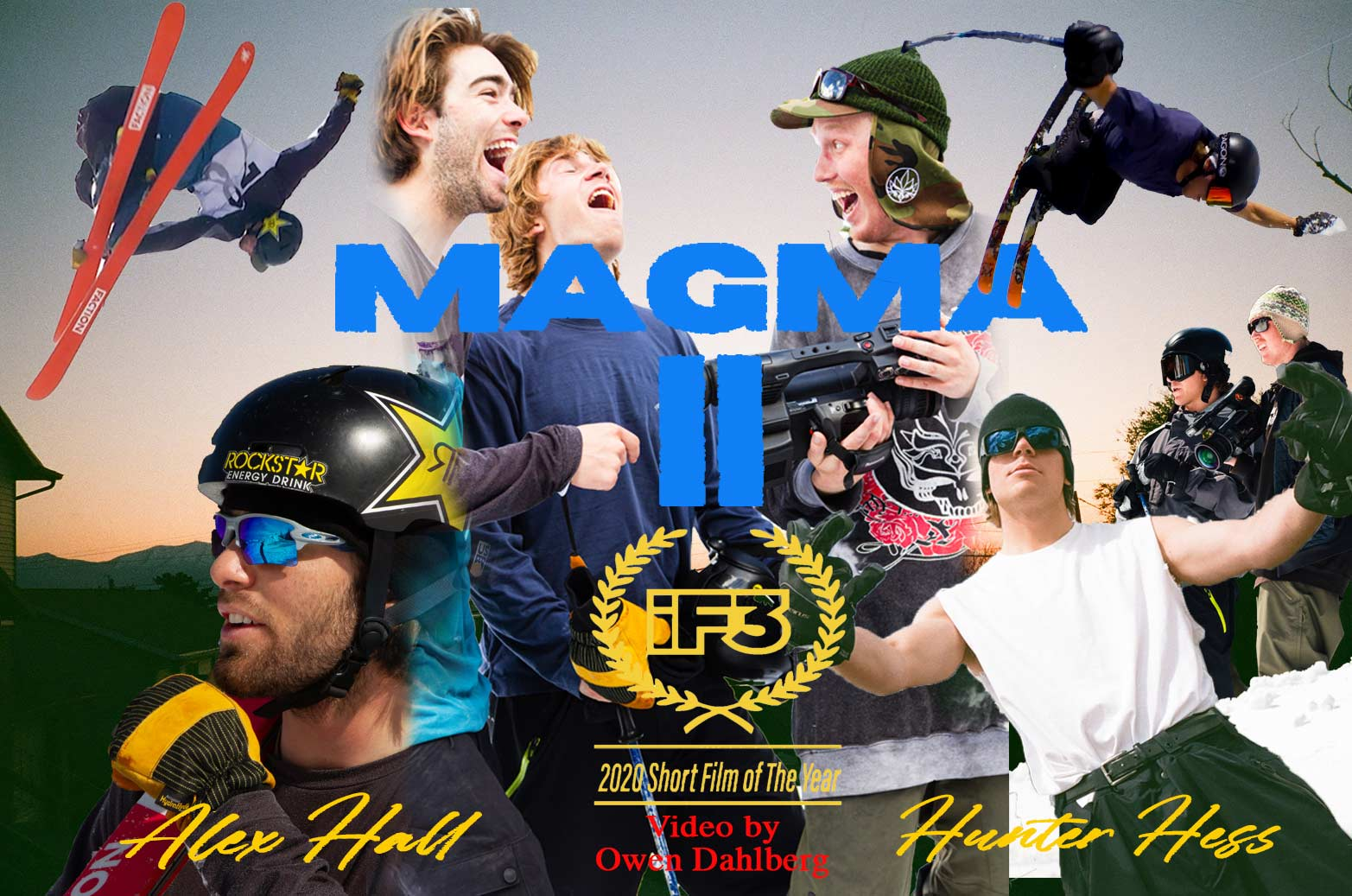 """Magma II"": Interview mit Hunter Hess & Full Movie (2020)"