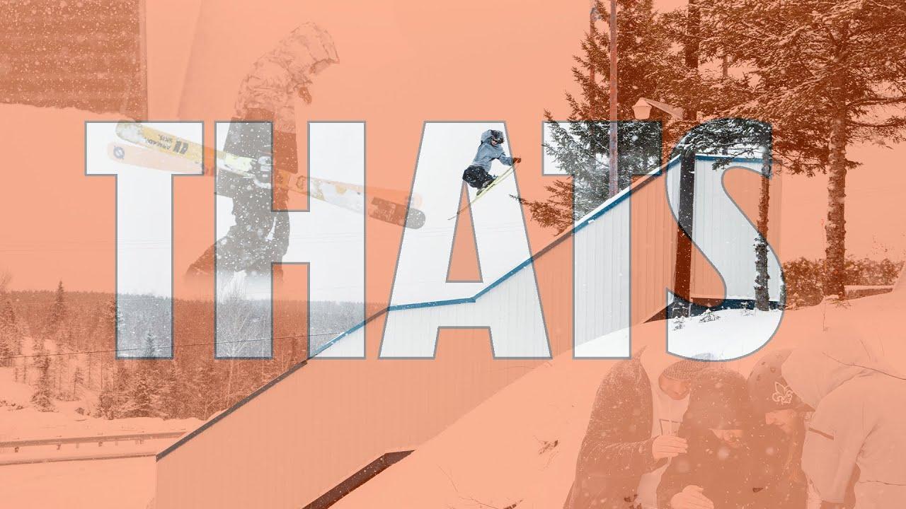 "X Games Real Ski 2020 Doku: ""That's"" – Emile Bergeron"