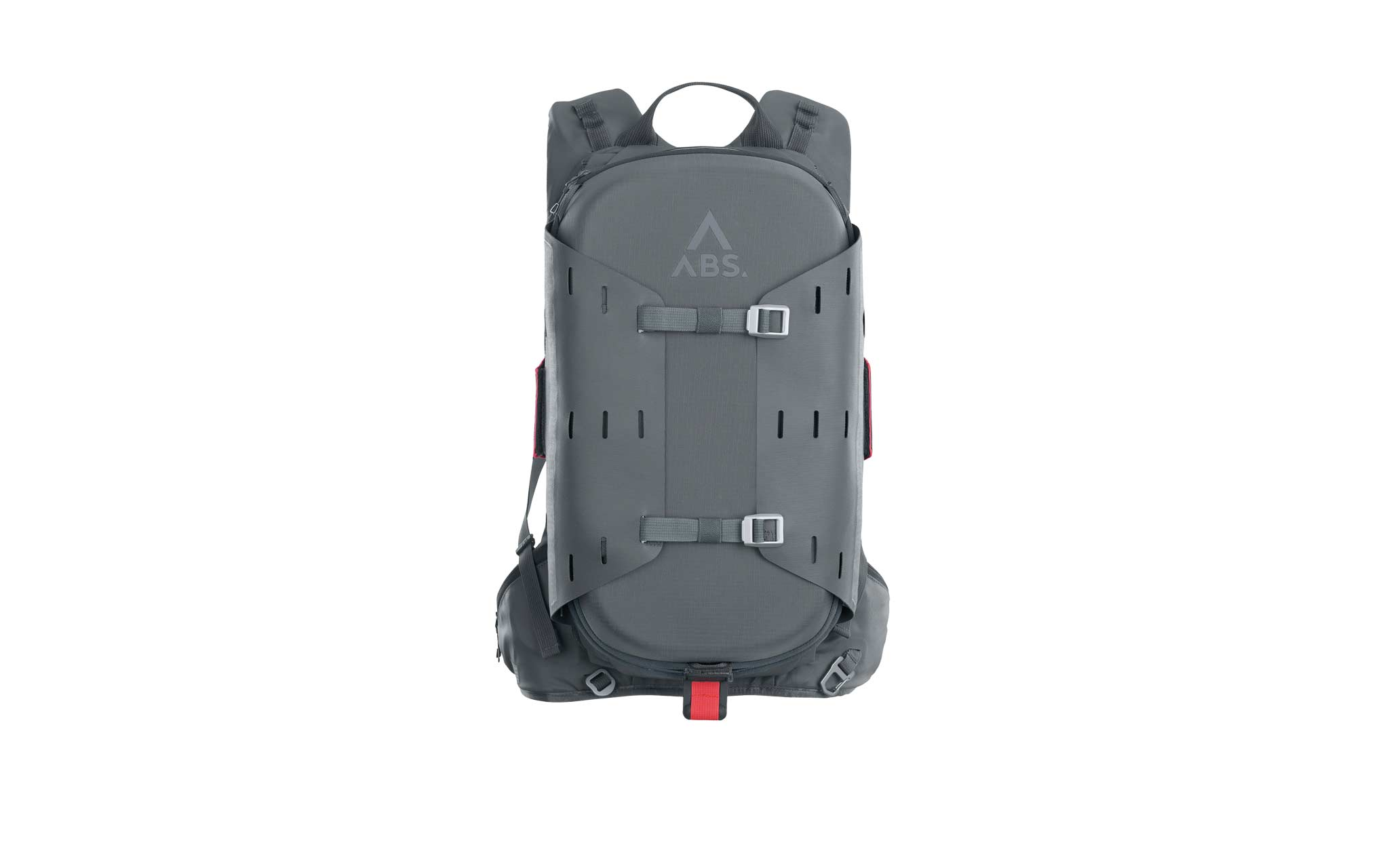 ABS A.Light Lawinenrucksack: Durch das einzigartige ABS TwinBag System lösen sich im Notfall zwei voneinander unabhängige Airbags in einer volumenoptimierten Form, wodurch die Wahrscheinlichkeit, an der Oberfläche zu bleiben, deutlich erhöht wird.
