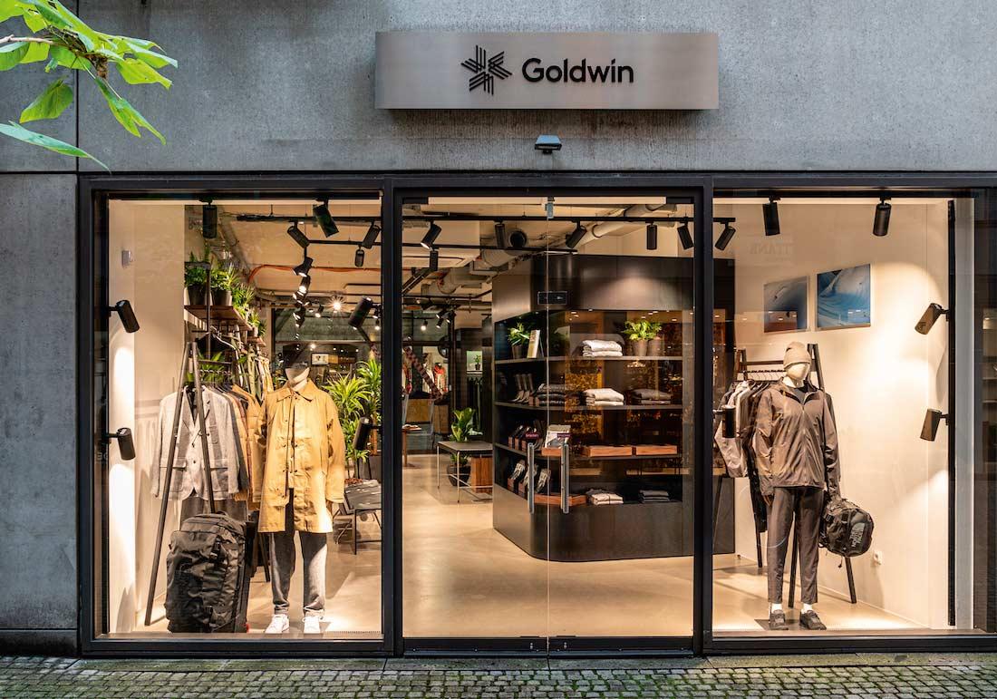 Die Kombination aus minimalistisch-cleanem Design und hoch funktionellen Produkten mit Premium-Ausstattung lockt ab sofort die Münchner in den ersten europäischen Shop von Goldwin.