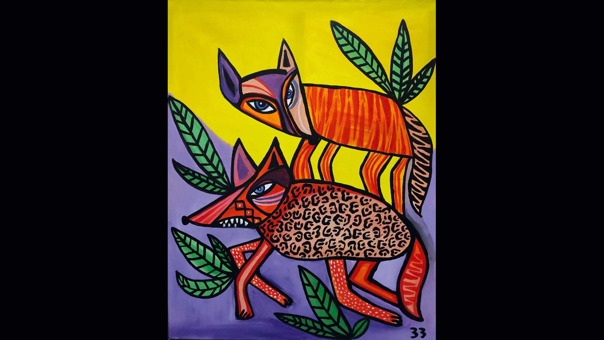 Für die Kollektion 2020/21 hat US-Künstler Ben Brough den Pinsel geschwungen und seine bekannten Füchse auf die Decks gepackt.