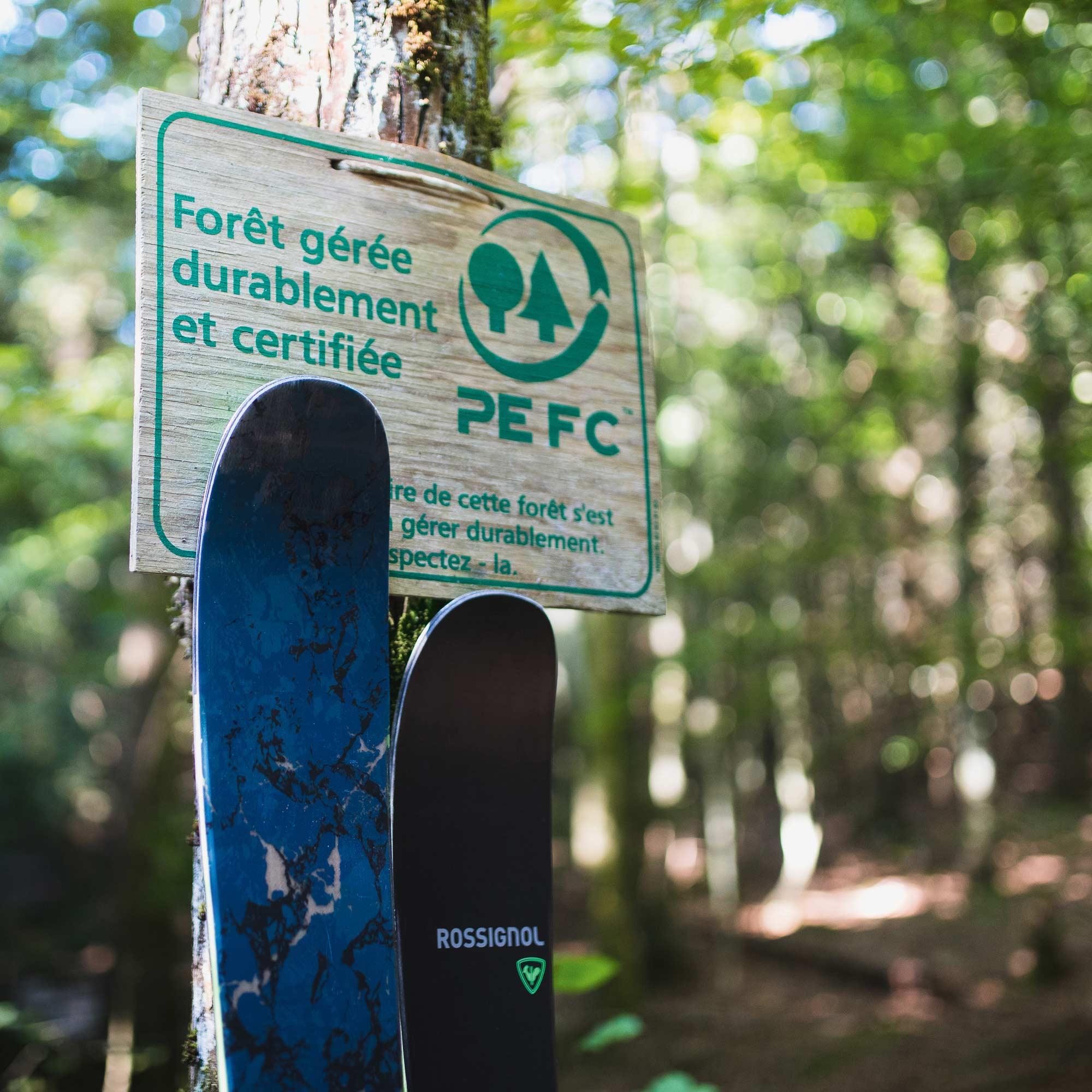 PEFC-zertifizierte Pappelholzkerne und FSC-zertifizierte Paulownia-Holzkerne in Kombination mit recycelten Topsheet-, Belag- und Kantenmaterialien tragen dazu bei, die Umweltauswirkungen während des gesamten Produktlebenszyklus zu reduzieren.