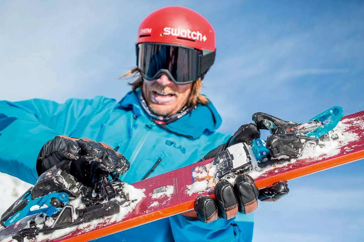 """Big-Mountain-Legende Cody Townsend hat sich über die """"Shift"""" ebenso gefreut wie das gesamte Mountain Collective von Salomon."""
