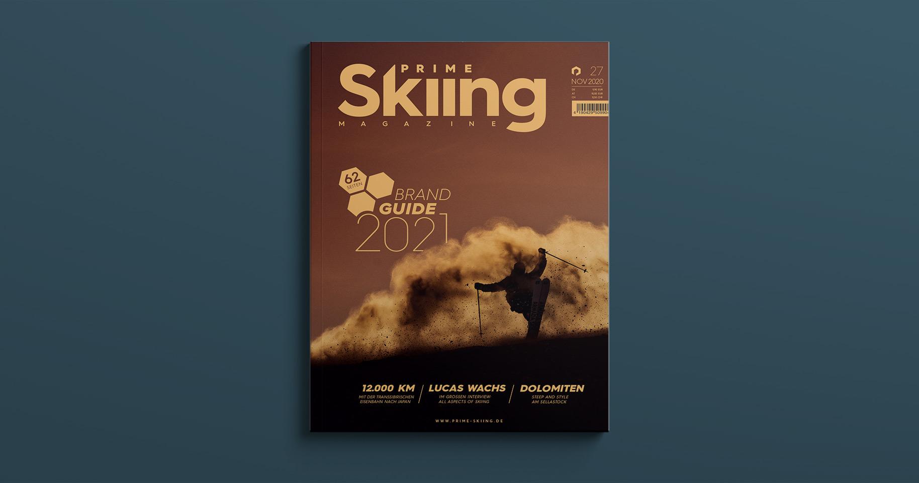 11 Geschenkideen für Skifahrer: PRIME Skiing Magazine Print Abo