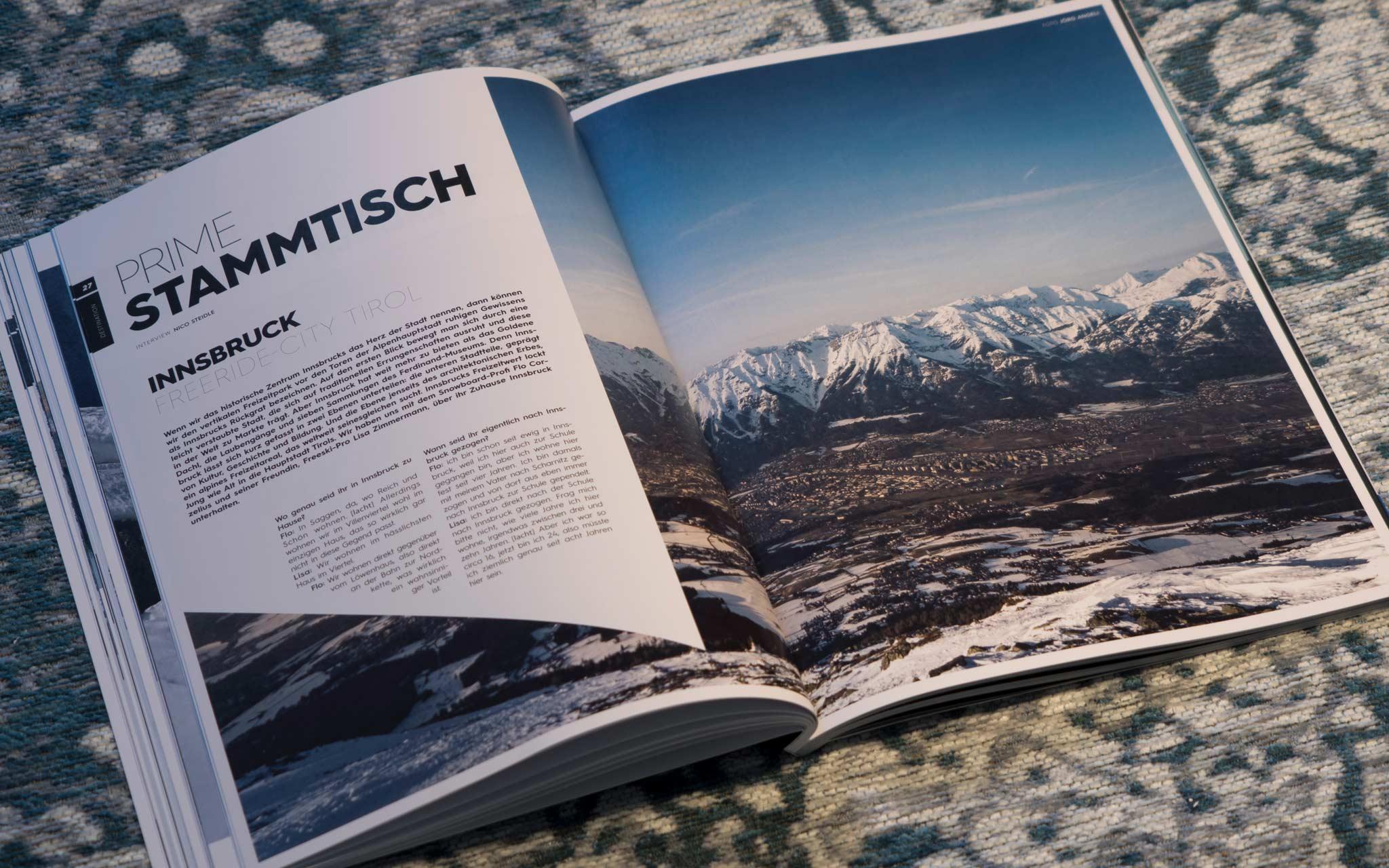 PRIME Stammtisch - Freeridecity Innsbruck