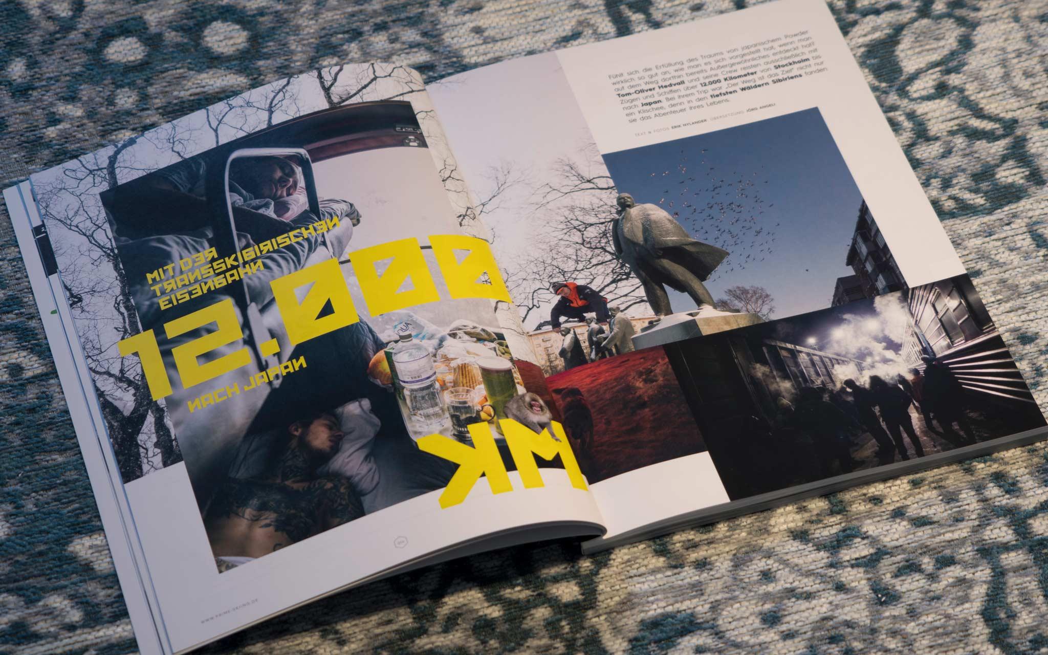 12.000 - Mit der Transskibirischen-Eisenbahn nach Japan - Text & Fotos: Erik Nylander