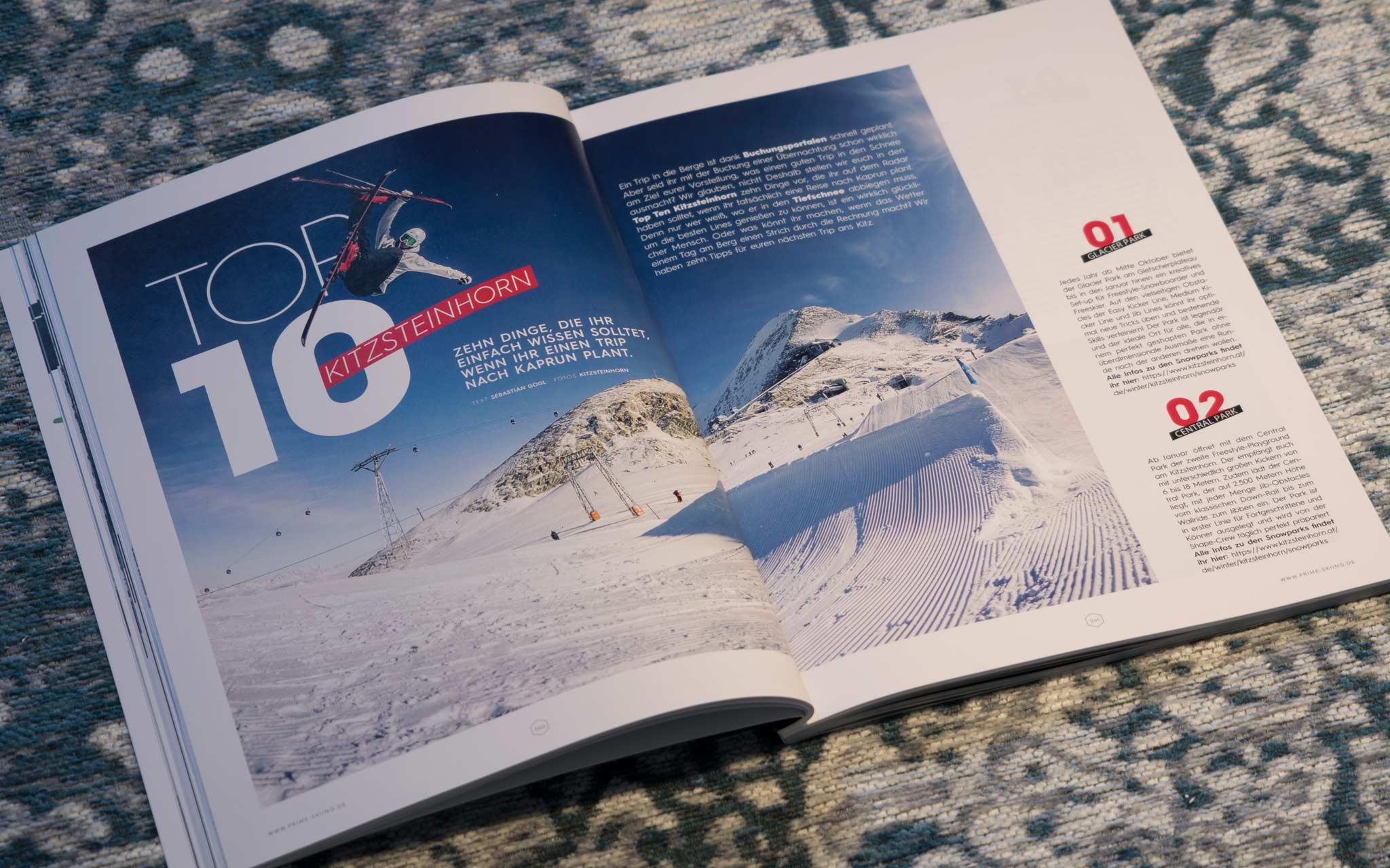 Top 10 - Kitzsteinhorn