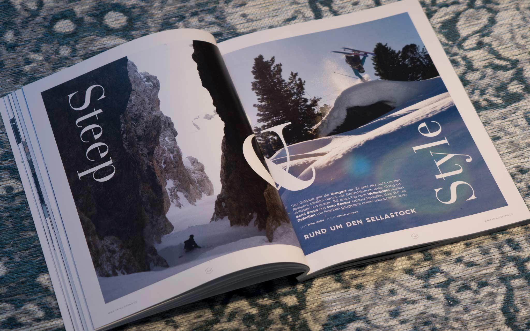Steep & Style - Rund um den Sellastock - Text: Berni Braun - Fotos: Roman Lachner