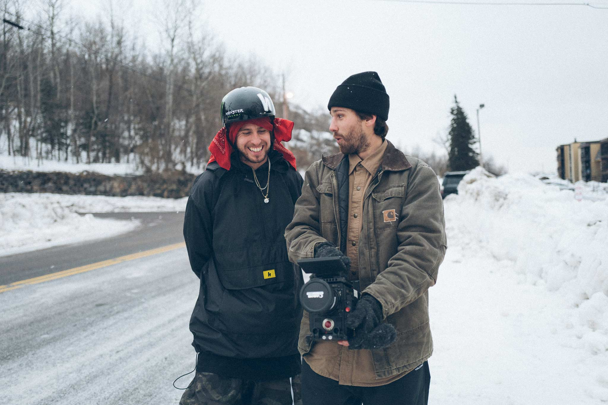Mittlerweile auch ein Meister hinter der Kamera: Clayton Vila (rechts) - Bild: Josh Bishop
