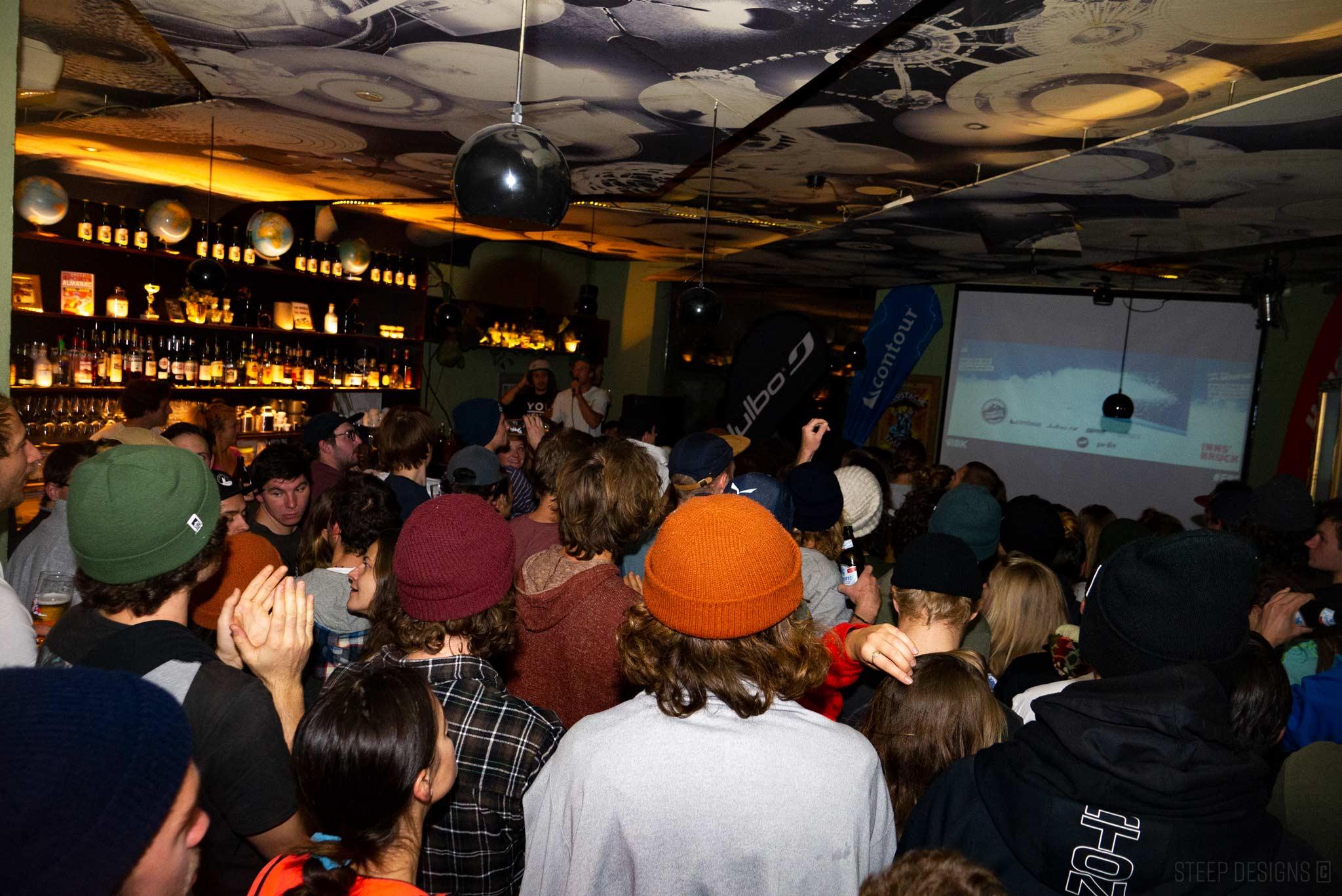 So sah es in normalen Zeiten bei den Freeride Nights Innsbruck aus. - Foto: Marie Thiemann