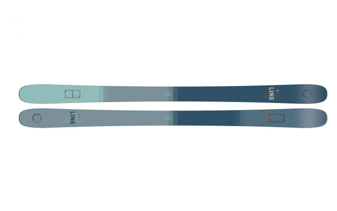 Line Skis - Tom Wallisch Pro 2022 - Top Sheet