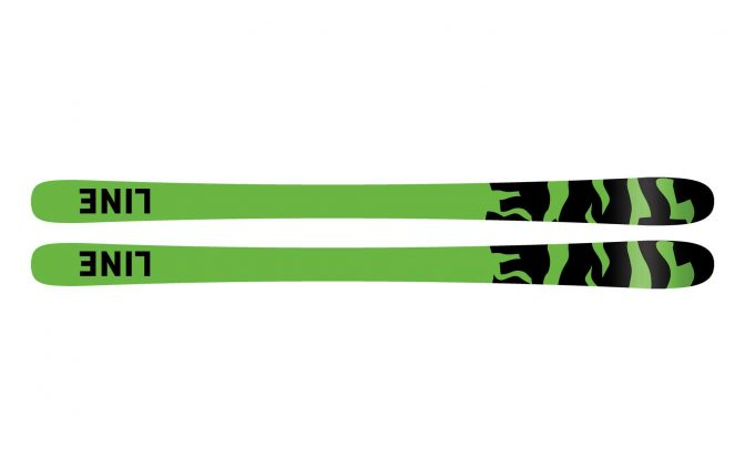 Line Skis - Sick Day 88 2022 - Base