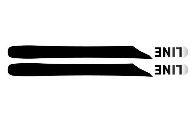 Line Skis - Pandora 104 2022 - Base