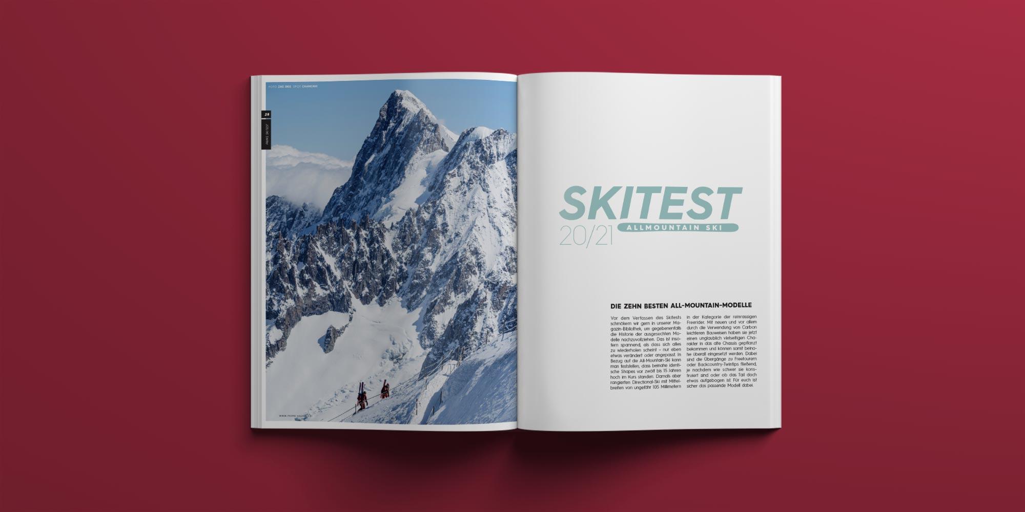 PRIME Skiing #28: Skitest: All-Mountain-Ski