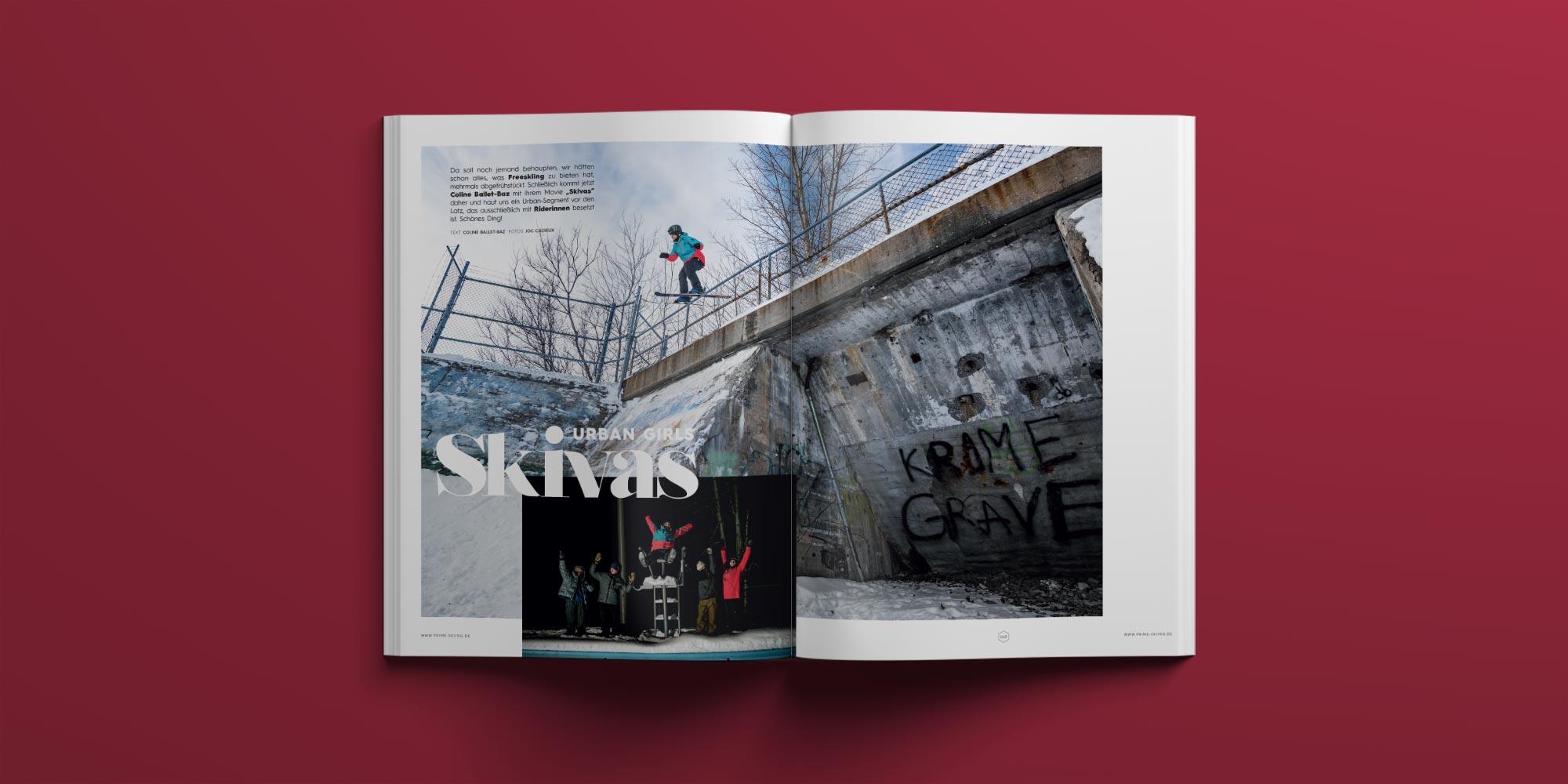 PRIME Skiing #28: Skivas – Coline Ballet-Baz