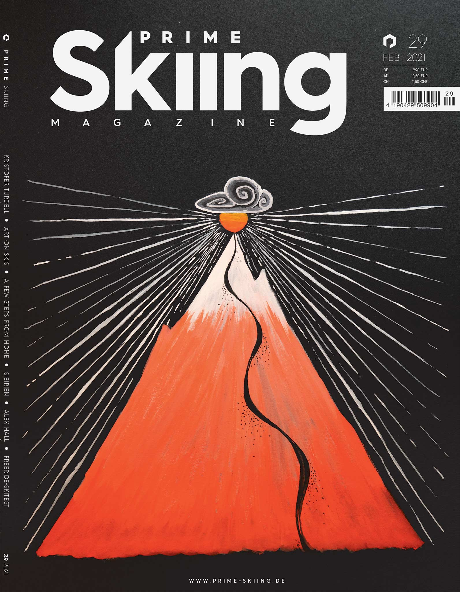 PRIME Skiing #29 – Cover by Eric Pollard
